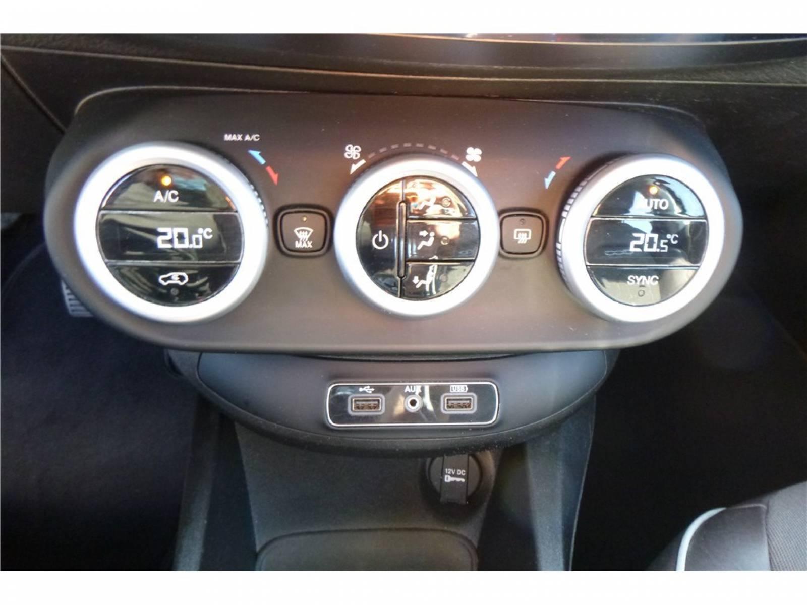FIAT 500X 1.6 MultiJet 120 ch - véhicule d'occasion - Groupe Guillet - Chalon Automobiles - 71100 - Chalon-sur-Saône - 26