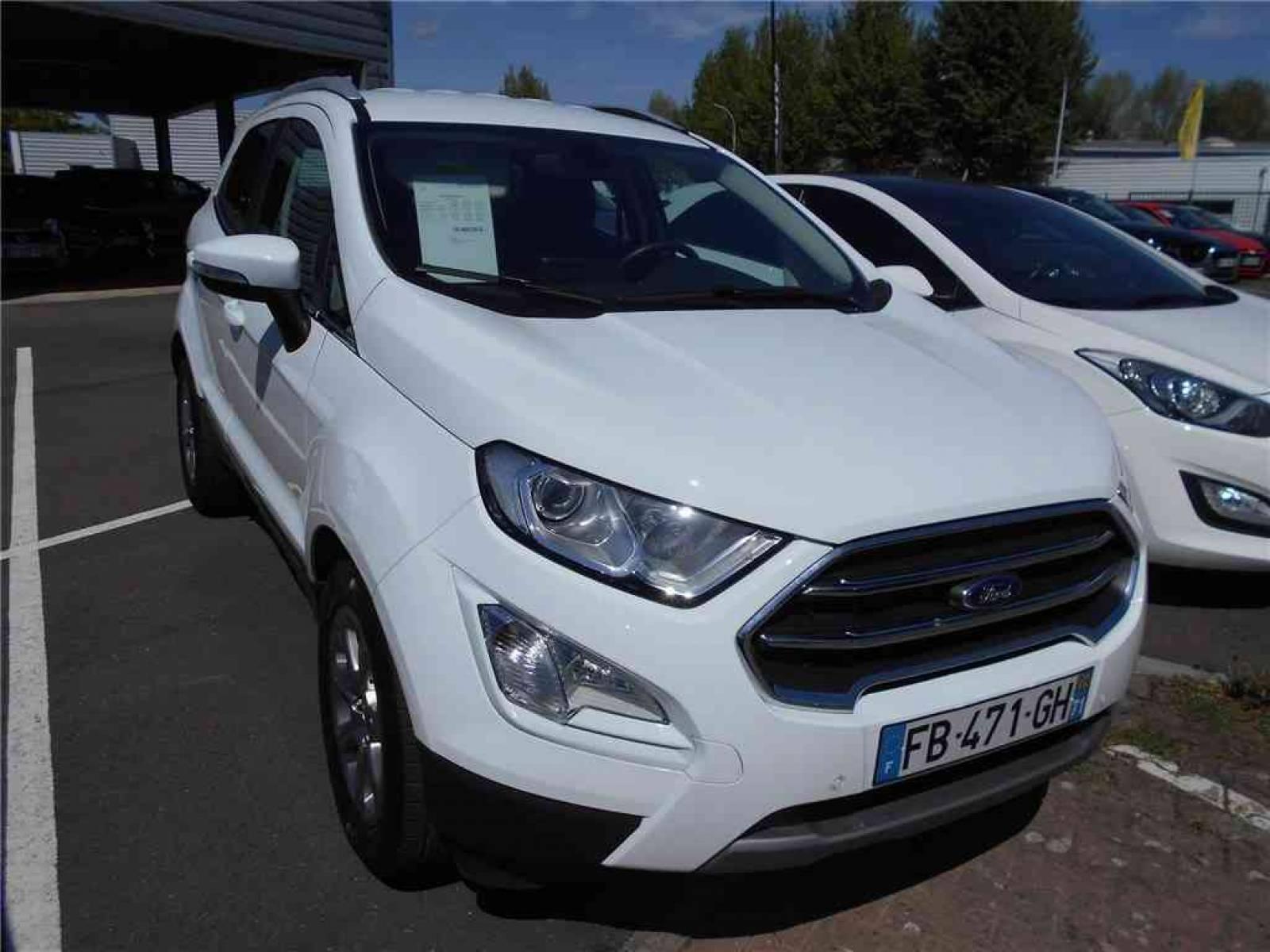 FORD EcoSport 1.0 EcoBoost 125 BVM6 - véhicule d'occasion - Groupe Guillet - Chalon Automobiles - 71100 - Chalon-sur-Saône - 21