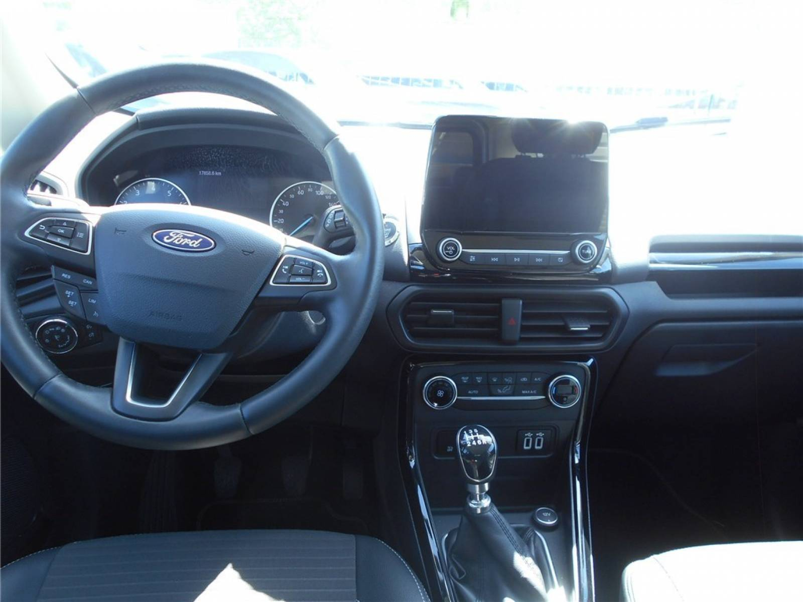 FORD EcoSport 1.0 EcoBoost 125 BVM6 - véhicule d'occasion - Groupe Guillet - Chalon Automobiles - 71100 - Chalon-sur-Saône - 7