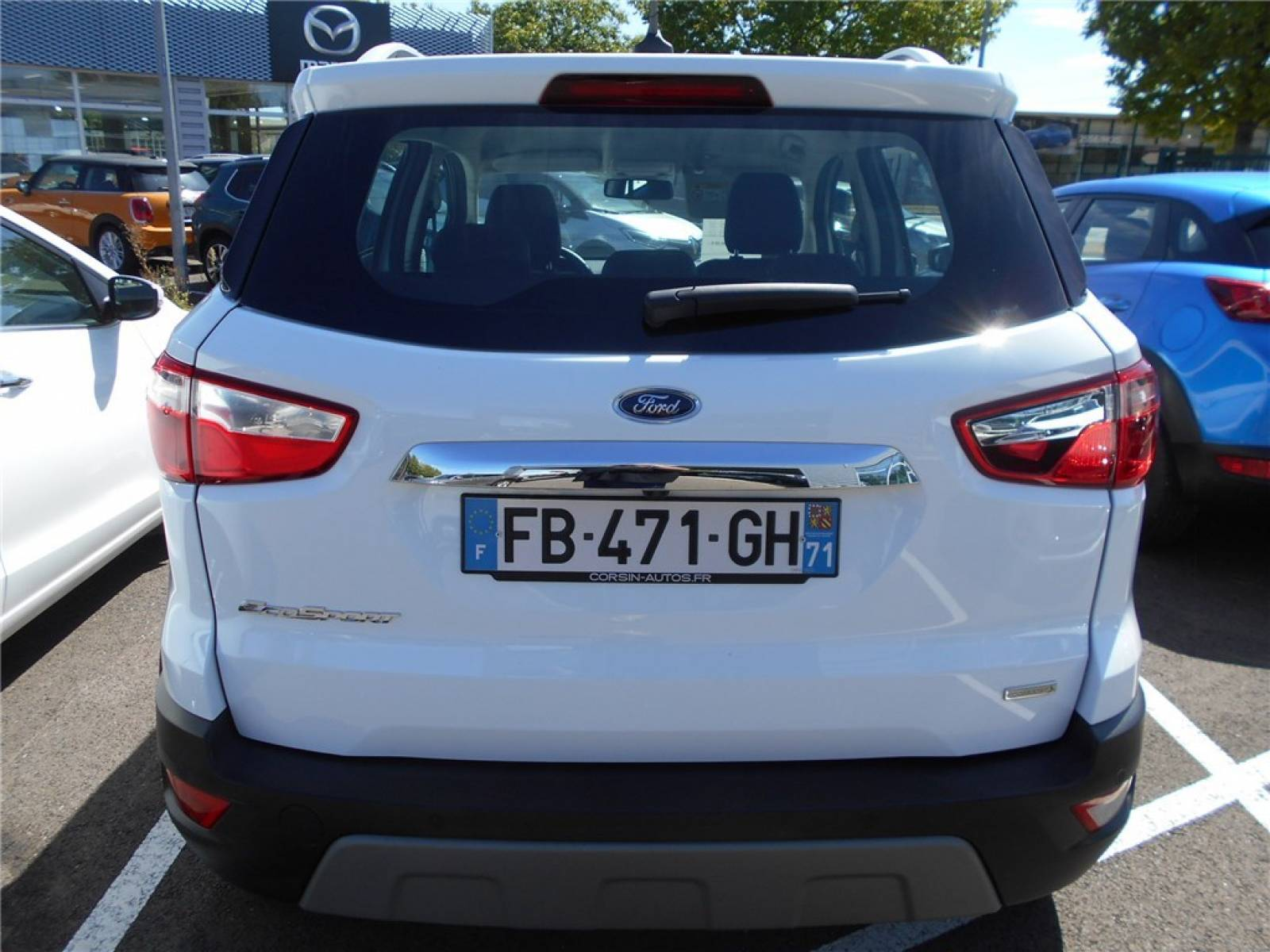 FORD EcoSport 1.0 EcoBoost 125 BVM6 - véhicule d'occasion - Groupe Guillet - Chalon Automobiles - 71100 - Chalon-sur-Saône - 9