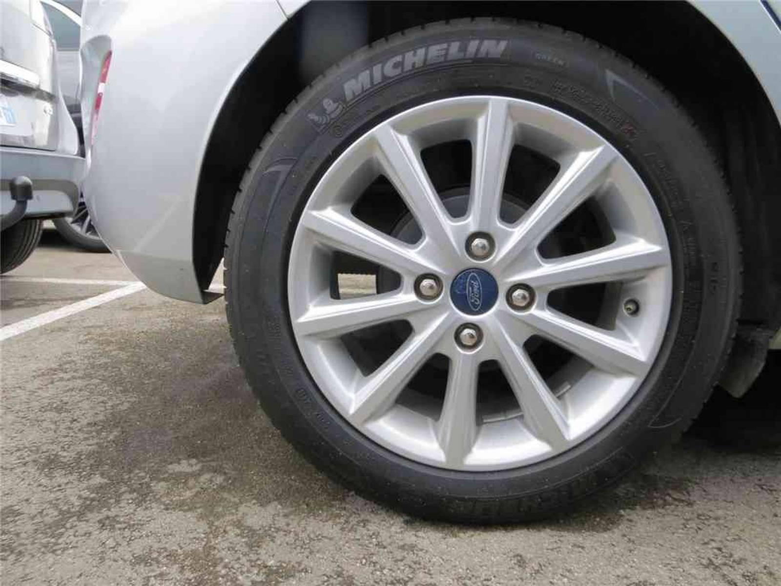 FORD Fiesta 1.0 EcoBoost 100 ch S&S BVM6 - véhicule d'occasion - Groupe Guillet - Opel Magicauto - Chalon-sur-Saône - 71380 - Saint-Marcel - 5