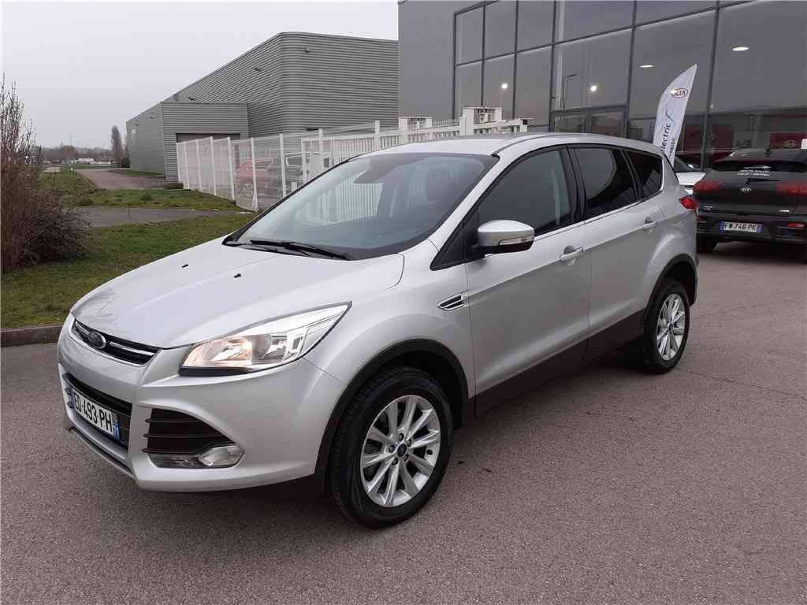 FORD Kuga 2.0 TDCi 150 S&S 4x4 - véhicule d'occasion - Groupe Guillet - Hall de l'automobile - Chalon sur Saône - 71380 - Saint-Marcel - 1