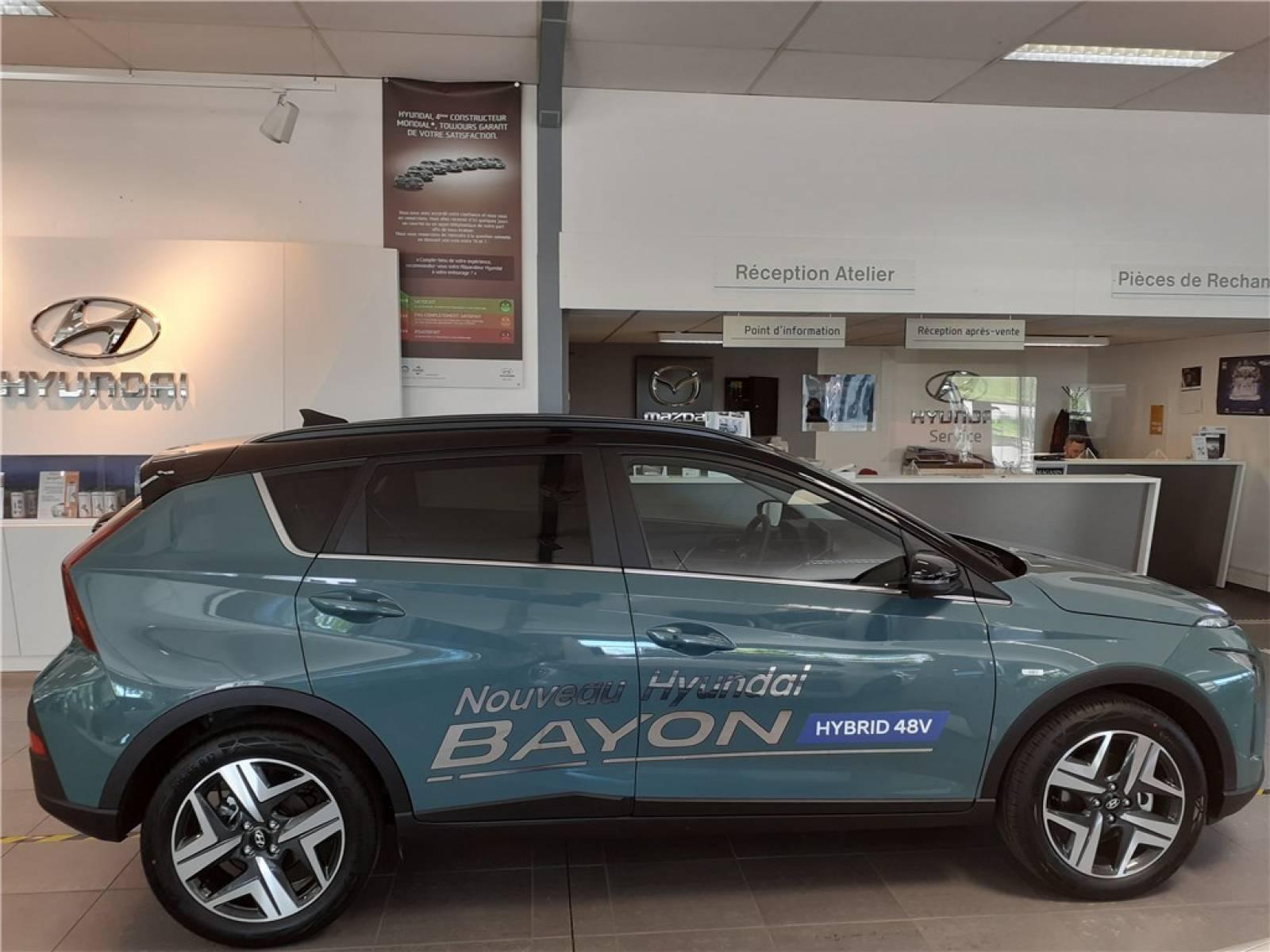 HYUNDAI Bayon 1.0 T-GDi 100 DCT-7 Hybrid 48V - véhicule d'occasion - Groupe Guillet - Chalon Automobiles - 71100 - Chalon-sur-Saône - 49