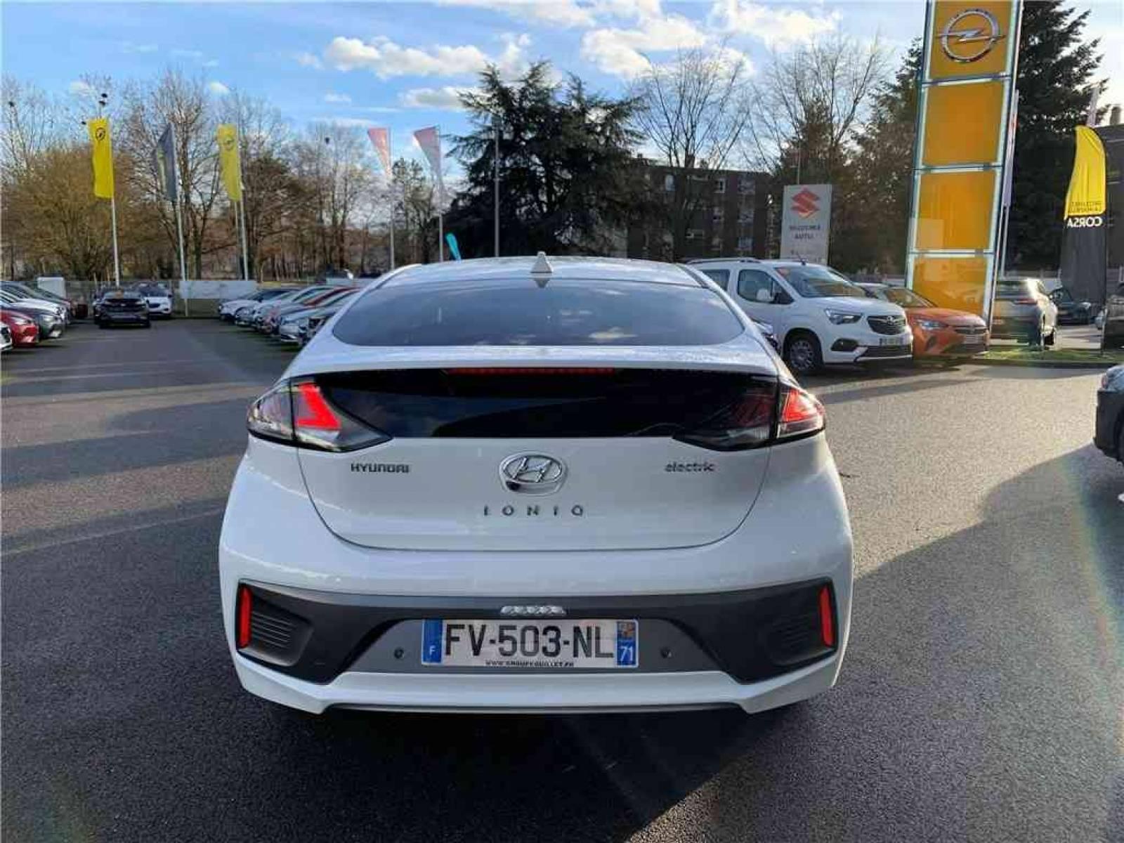 HYUNDAI Ioniq Electric 136 ch - véhicule d'occasion - Groupe Guillet - Chalon Automobiles - 71100 - Chalon-sur-Saône - 3