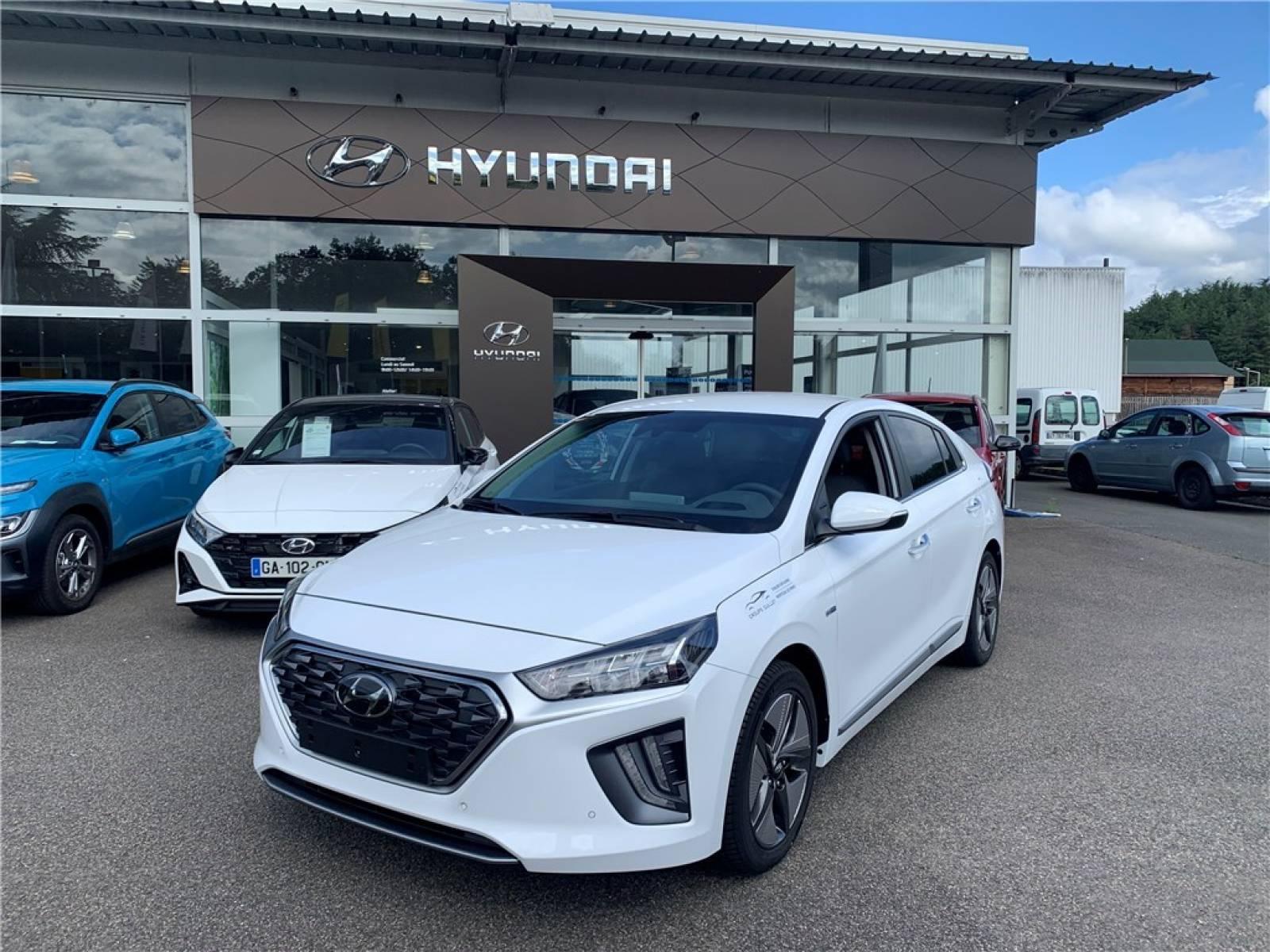 HYUNDAI Ioniq Hybrid 141 ch - véhicule d'occasion - Groupe Guillet - Chalon Automobiles - 71100 - Chalon-sur-Saône - 1