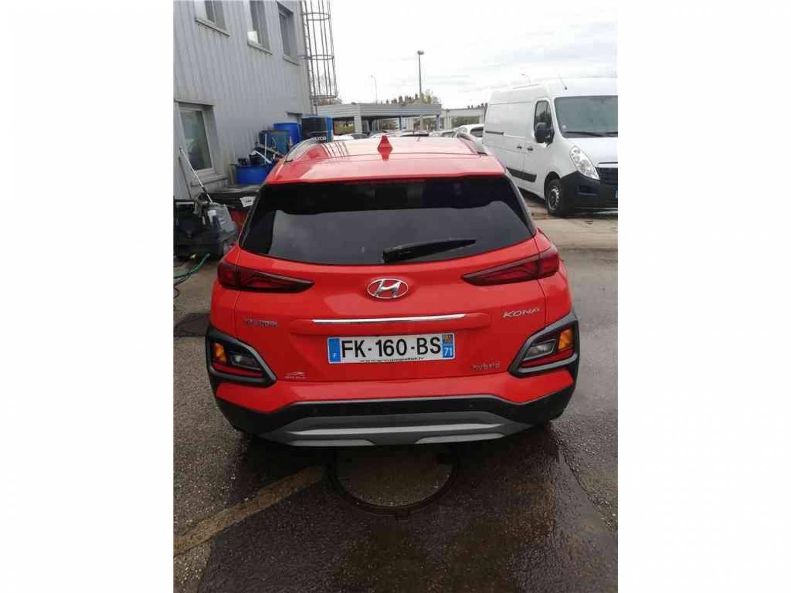 HYUNDAI Kona 1.6 GDi Hybrid - véhicule d'occasion - Groupe Guillet - Chalon Automobiles - 71100 - Chalon-sur-Saône - 7