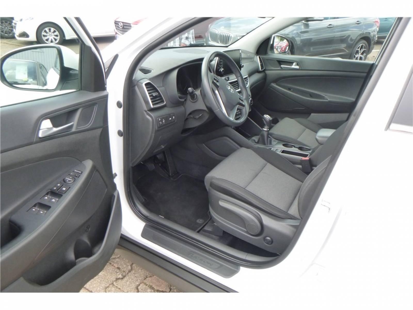 HYUNDAI Tucson 1.6 CRDi 115 - véhicule d'occasion - Groupe Guillet - Chalon Automobiles - 71100 - Chalon-sur-Saône - 13