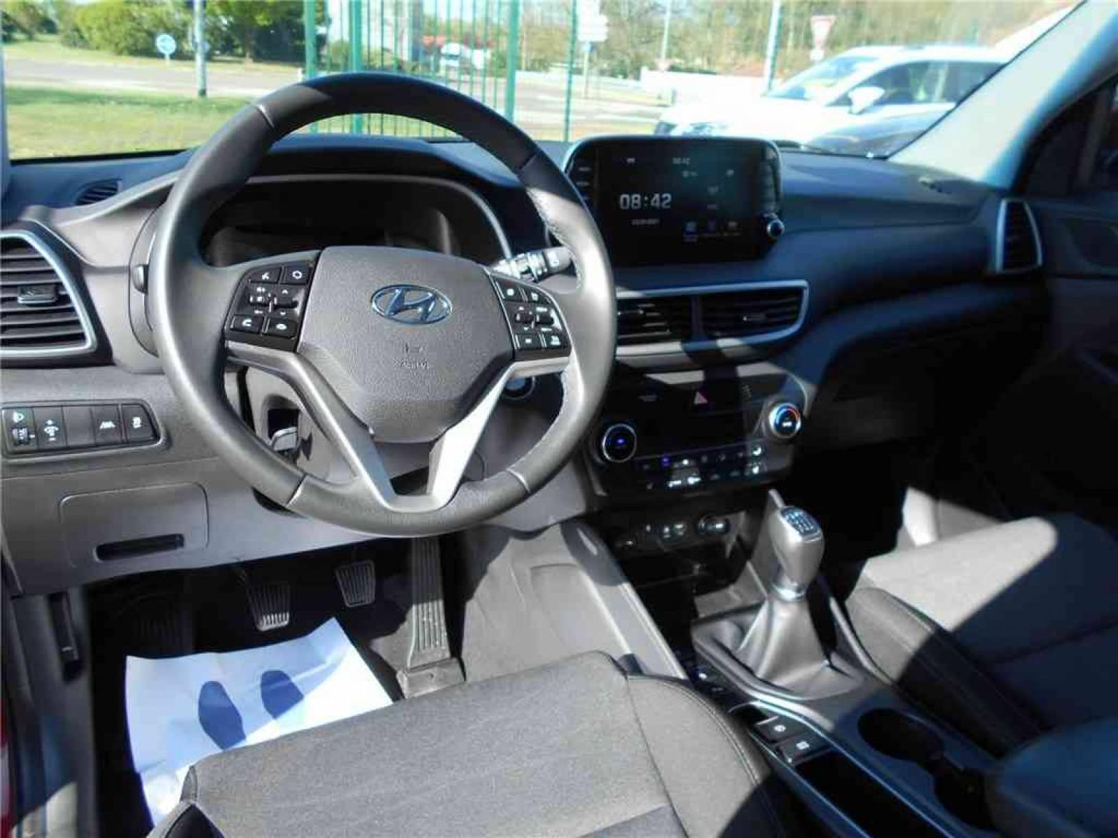 HYUNDAI Tucson 1.6 CRDi 115 - véhicule d'occasion - Groupe Guillet - Chalon Automobiles - 71100 - Chalon-sur-Saône - 20