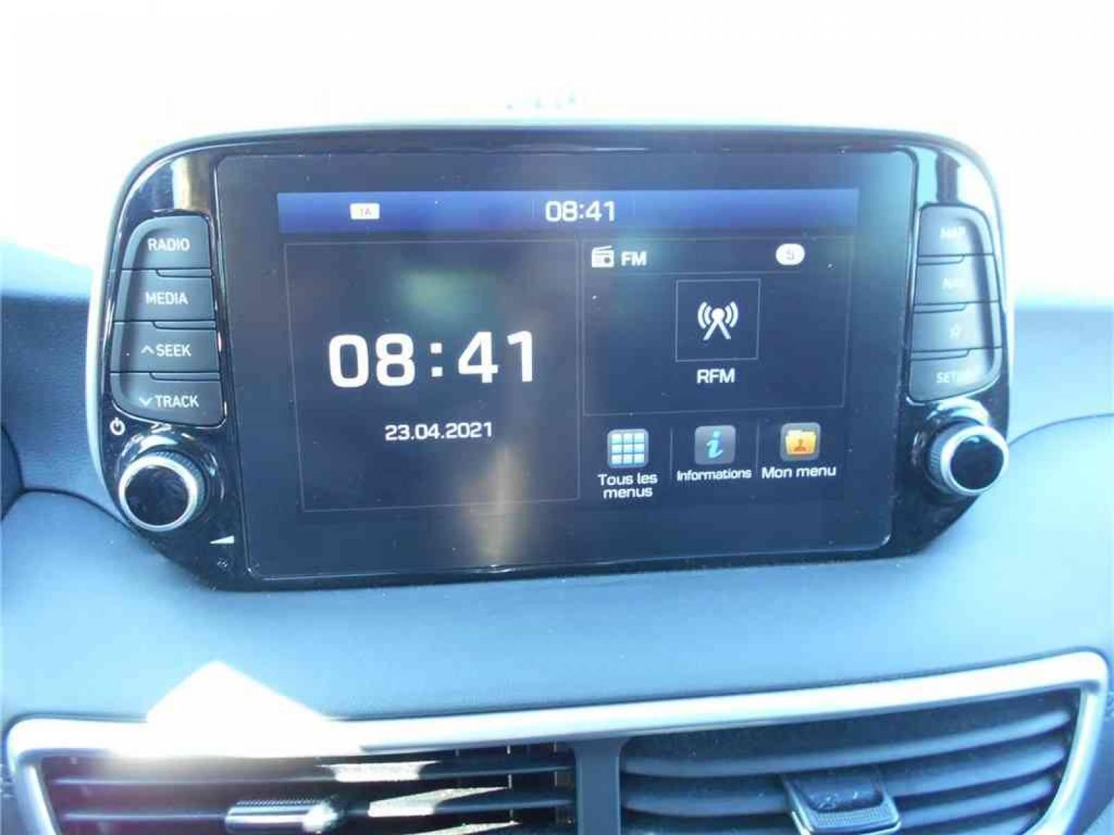 HYUNDAI Tucson 1.6 CRDi 115 - véhicule d'occasion - Groupe Guillet - Chalon Automobiles - 71100 - Chalon-sur-Saône - 23