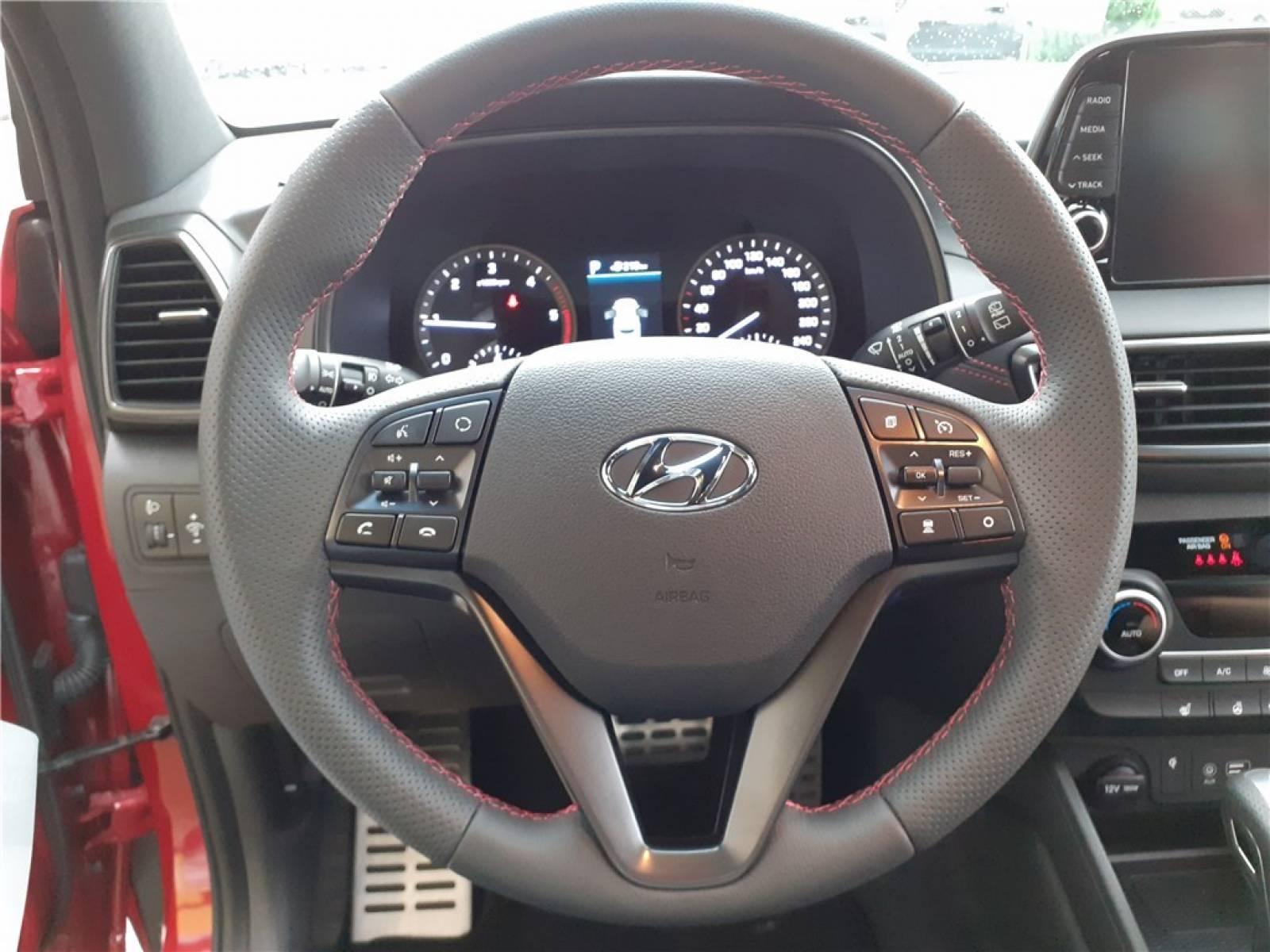 HYUNDAI Tucson 1.6 CRDi 136 HTRAC DCT-7 - véhicule d'occasion - Groupe Guillet - Opel Magicauto - Chalon-sur-Saône - 71380 - Saint-Marcel - 24