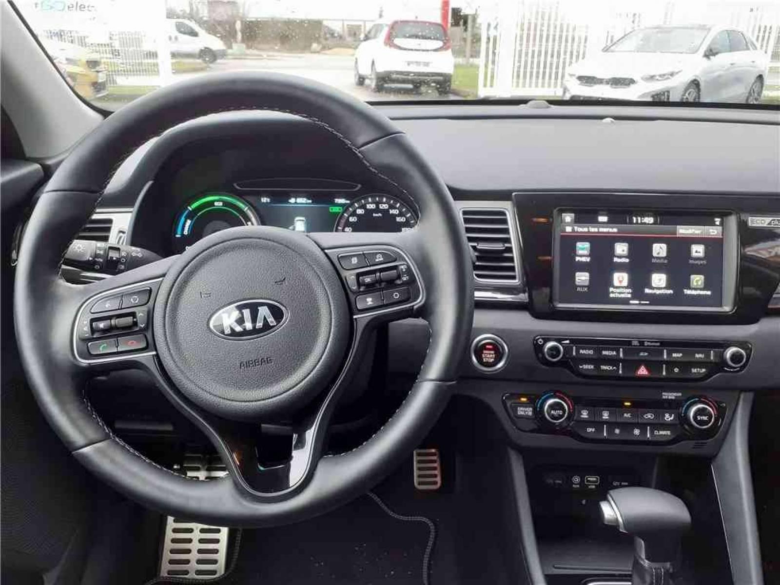 KIA Niro Hybrid Recharg 1.6 GDi 105 ch ISG + Elec 60.5 ch DCT6 - véhicule d'occasion - Groupe Guillet - Hall de l'automobile - Chalon sur Saône - 71380 - Saint-Marcel - 38