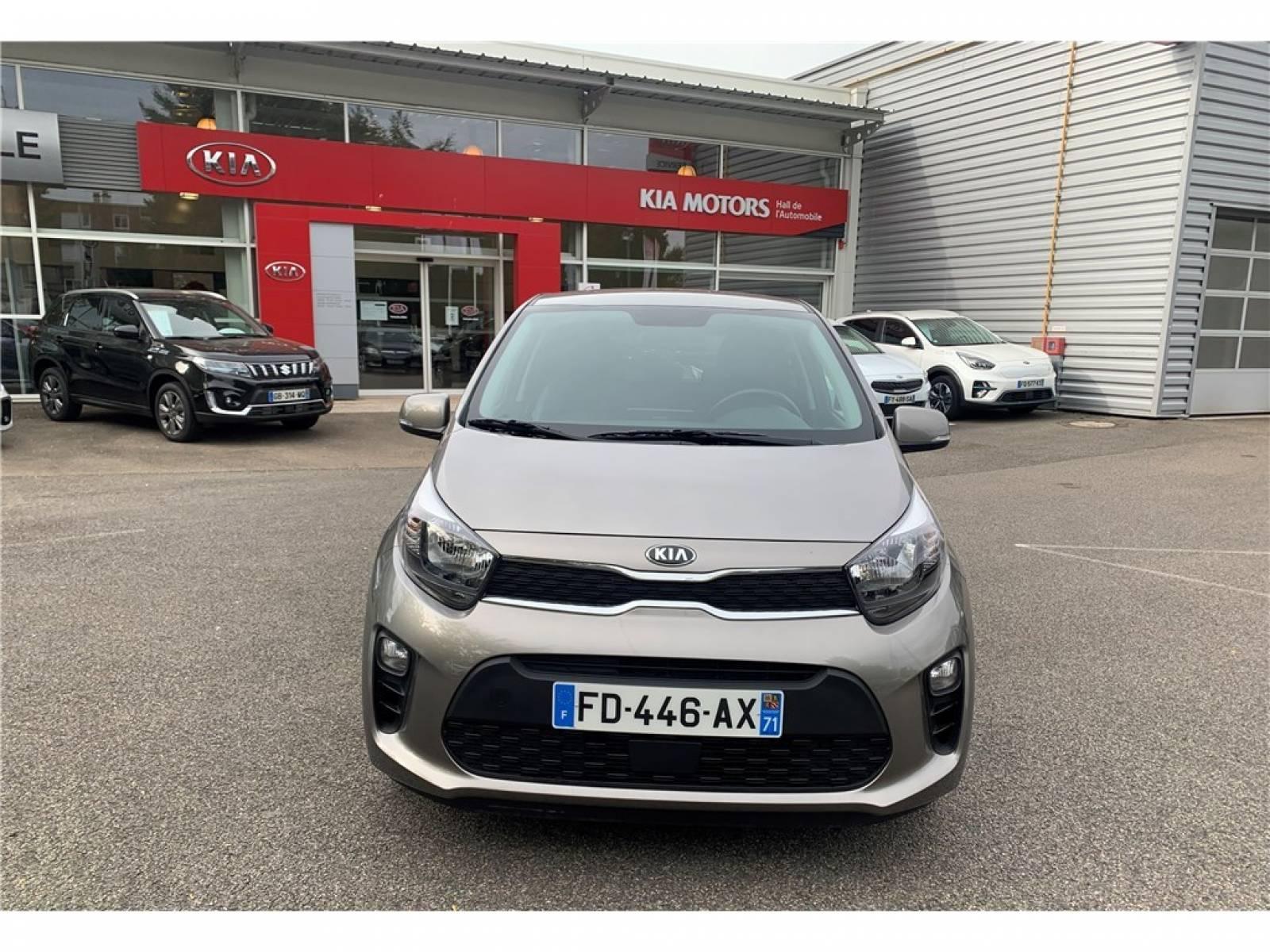KIA Picanto 1.0 essence MPi 67 ch BVM5 - véhicule d'occasion - Groupe Guillet - Hall de l'automobile - Montceau les Mines - 71300 - Montceau-les-Mines - 2