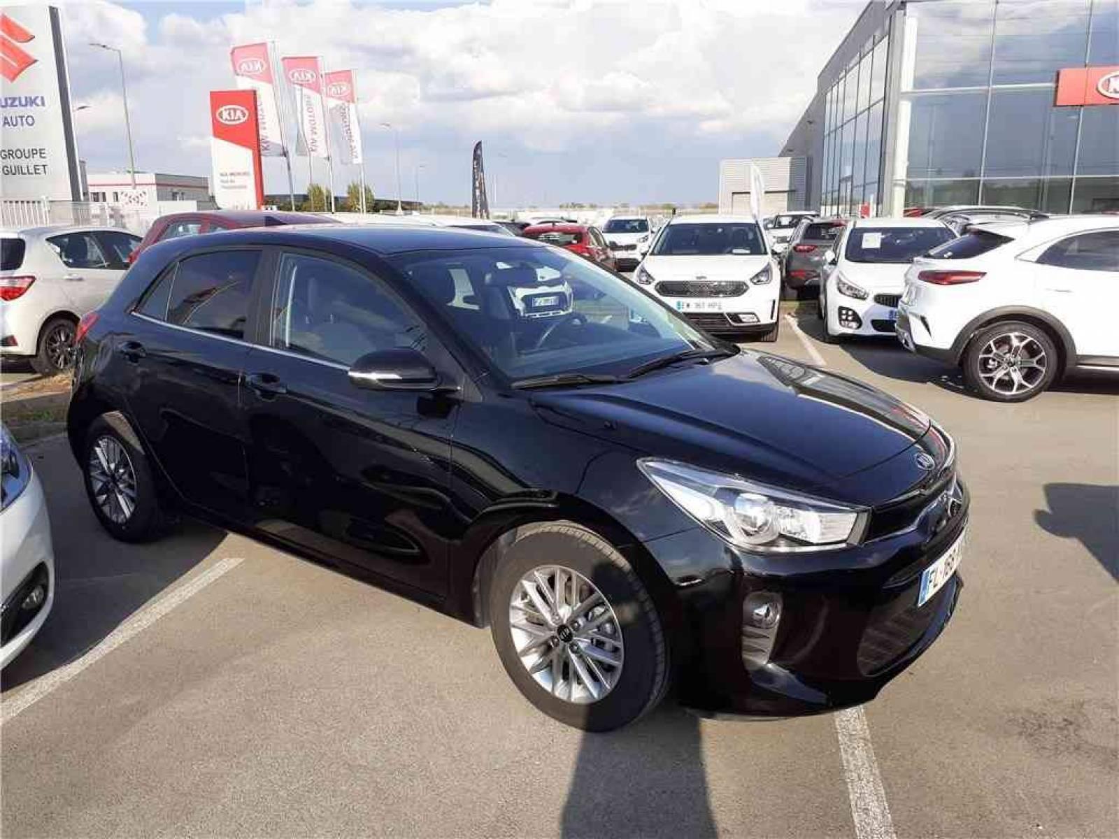 KIA Rio 1.2L 84 ch ISG - véhicule d'occasion - Groupe Guillet - Hall de l'automobile - Chalon sur Saône - 71380 - Saint-Marcel - 3