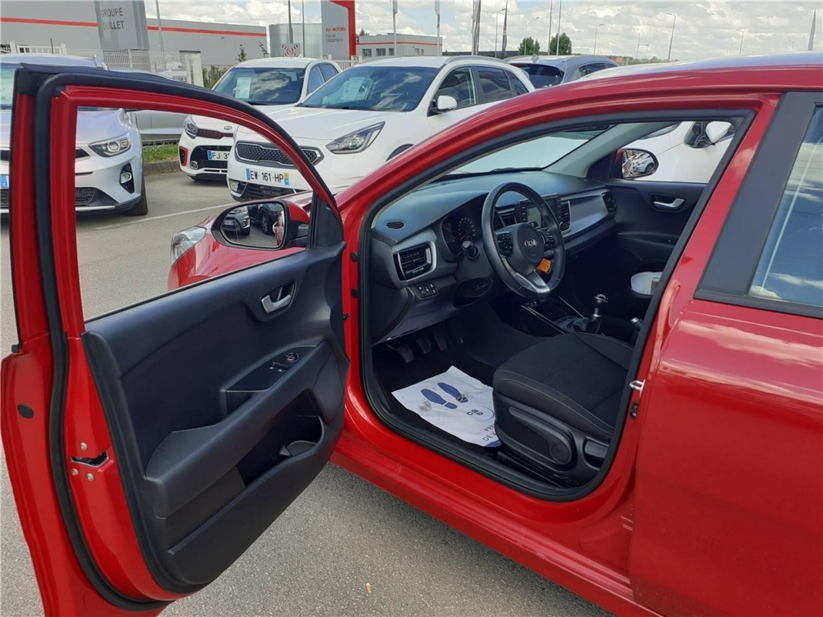 KIA Rio 1.2L 84 ch ISG - véhicule d'occasion - Groupe Guillet - Opel Magicauto - Chalon-sur-Saône - 71380 - Saint-Marcel - 14