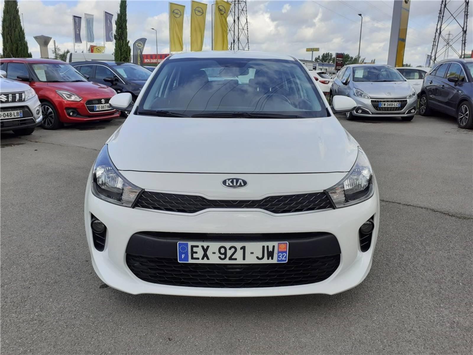 KIA Rio Business 1.2L 84 ch ISG - véhicule d'occasion - Groupe Guillet - Opel Magicauto - Montceau-les-Mines - 71300 - Montceau-les-Mines - 11