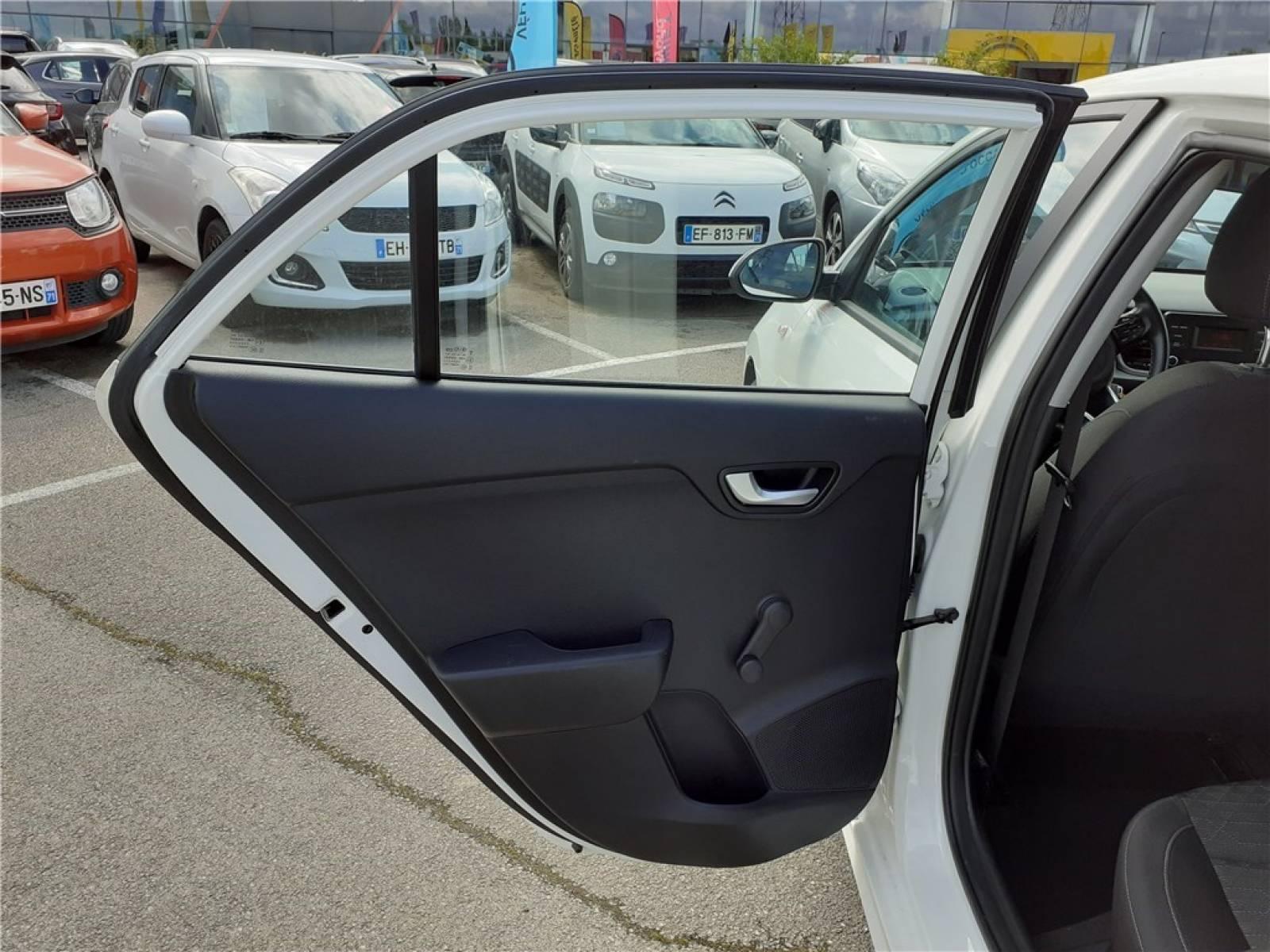 KIA Rio Business 1.2L 84 ch ISG - véhicule d'occasion - Groupe Guillet - Opel Magicauto - Montceau-les-Mines - 71300 - Montceau-les-Mines - 25