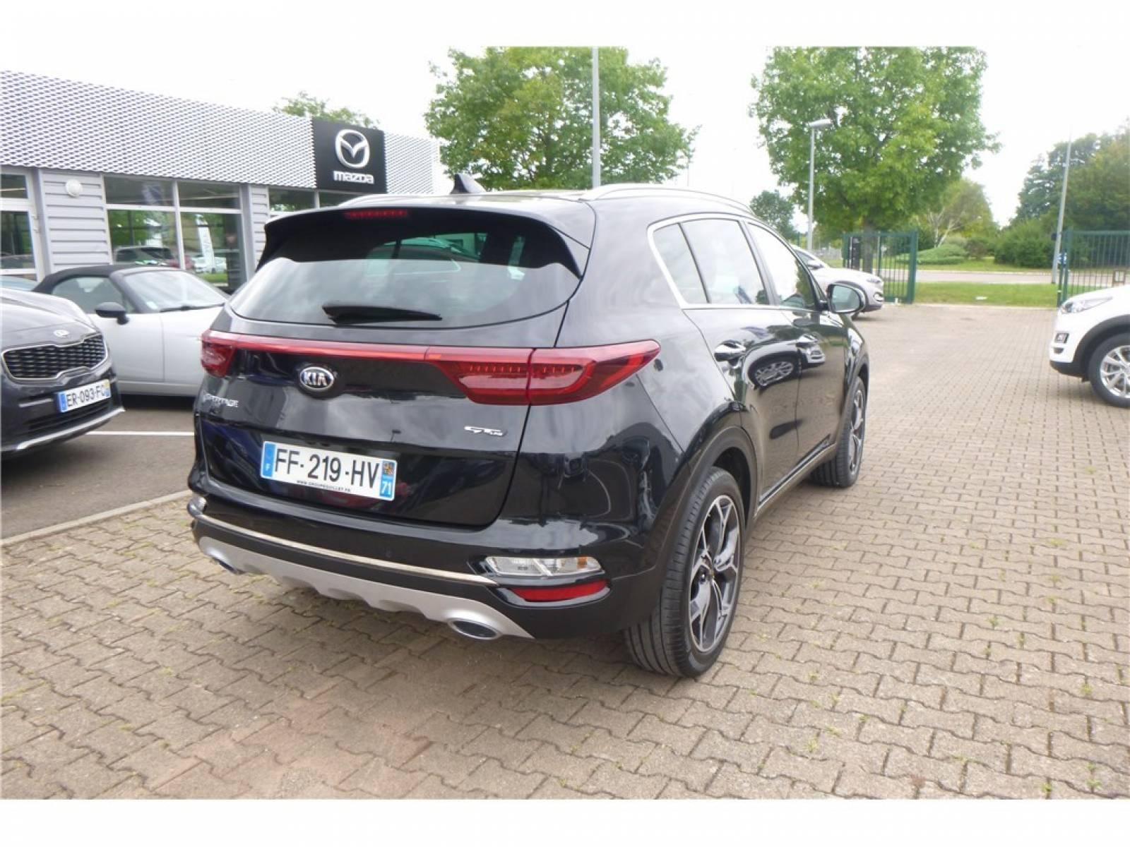 KIA Sportage 1.6 CRDi 136 ISG 4x2 BVM6 - véhicule d'occasion - Groupe Guillet - Chalon Automobiles - 71100 - Chalon-sur-Saône - 19