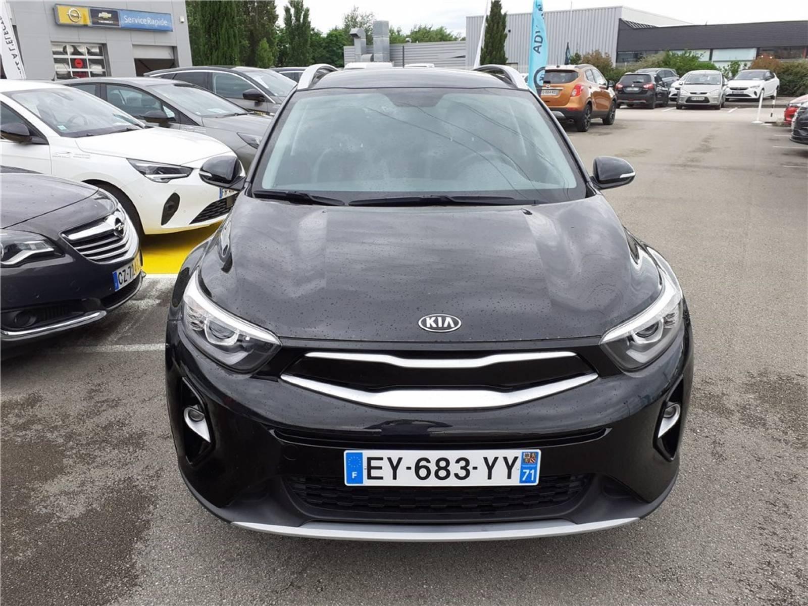 KIA Stonic 1.0 T-GDi 120 ch - véhicule d'occasion - Groupe Guillet - Hall de l'automobile - Chalon sur Saône - 71380 - Saint-Marcel - 1