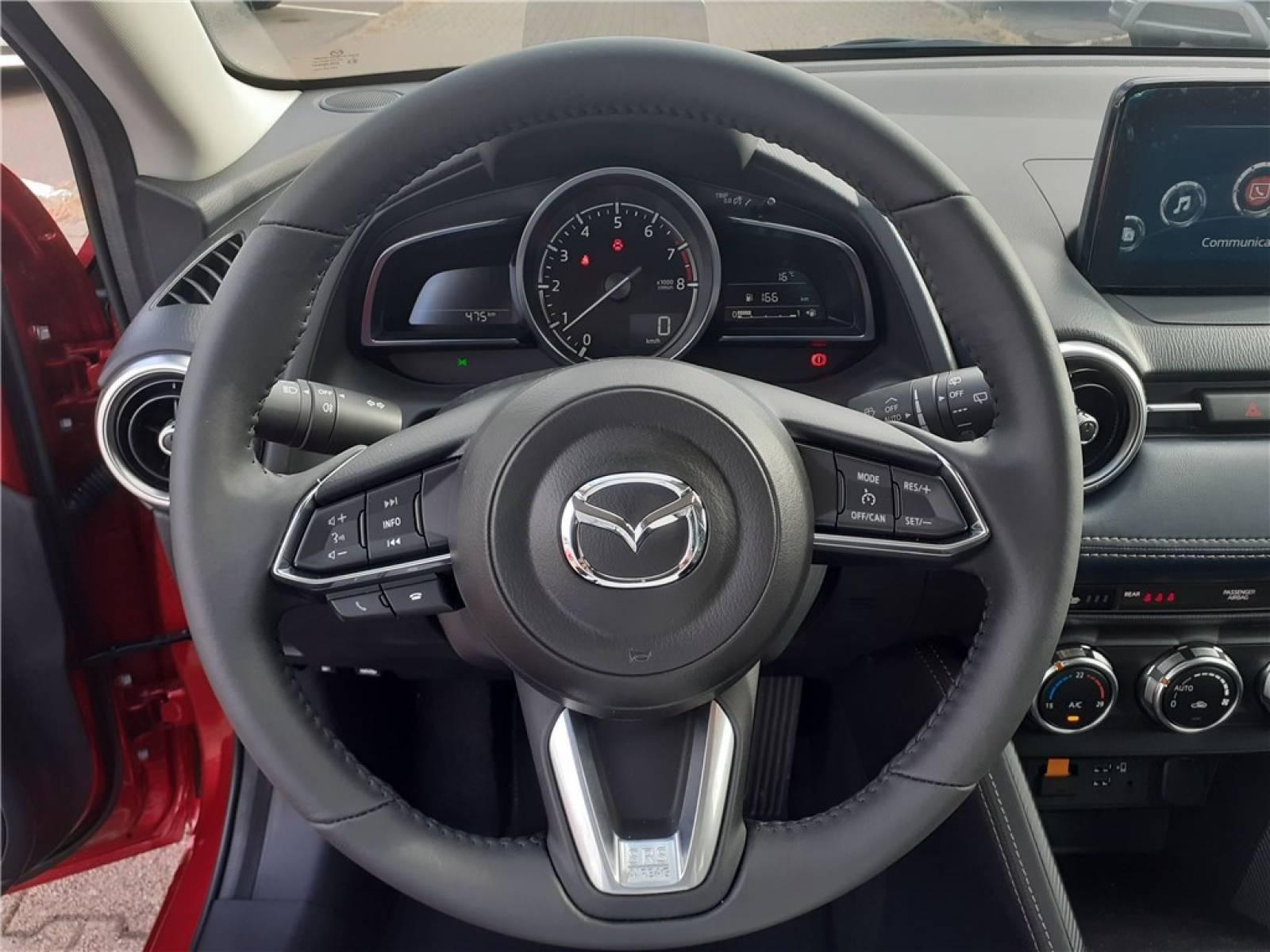 MAZDA Mazda2 1.5L SKYACTIV-G M Hybrid 90ch - véhicule d'occasion - Groupe Guillet - Chalon Automobiles - 71100 - Chalon-sur-Saône - 22