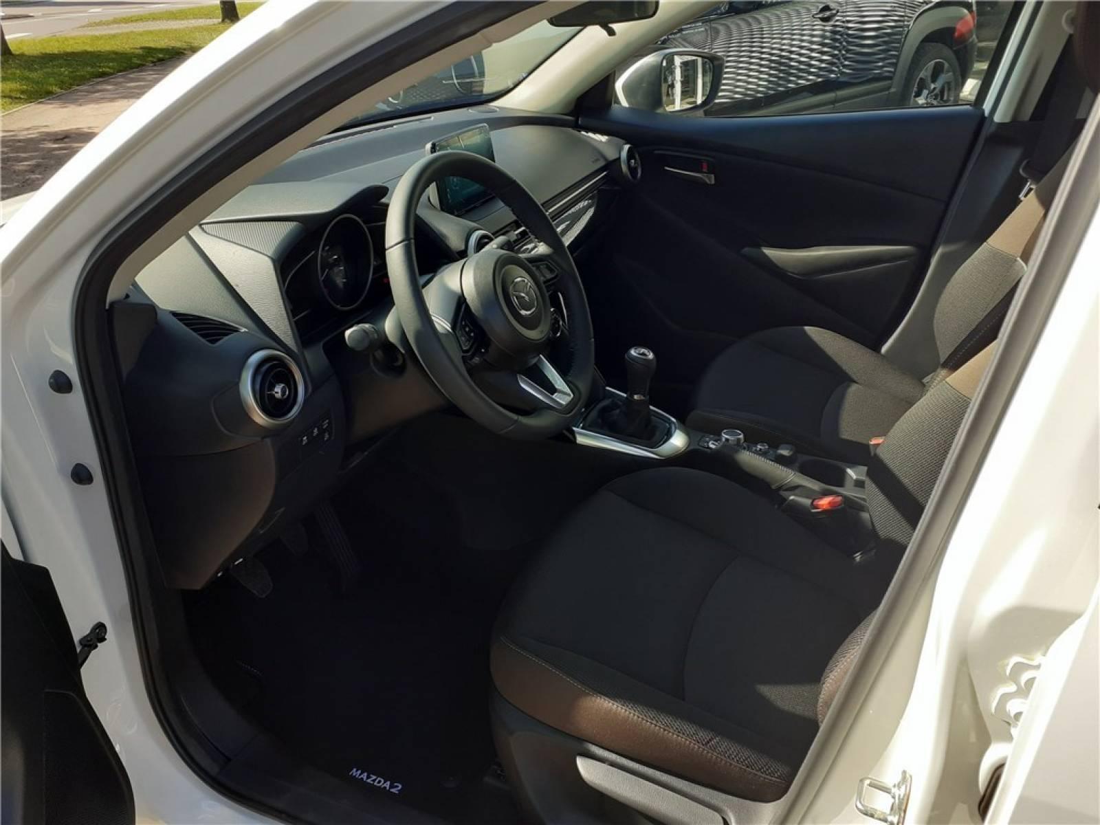 MAZDA Mazda2 1.5L SKYACTIV-G M Hybrid 90ch - véhicule d'occasion - Groupe Guillet - Chalon Automobiles - 71100 - Chalon-sur-Saône - 26
