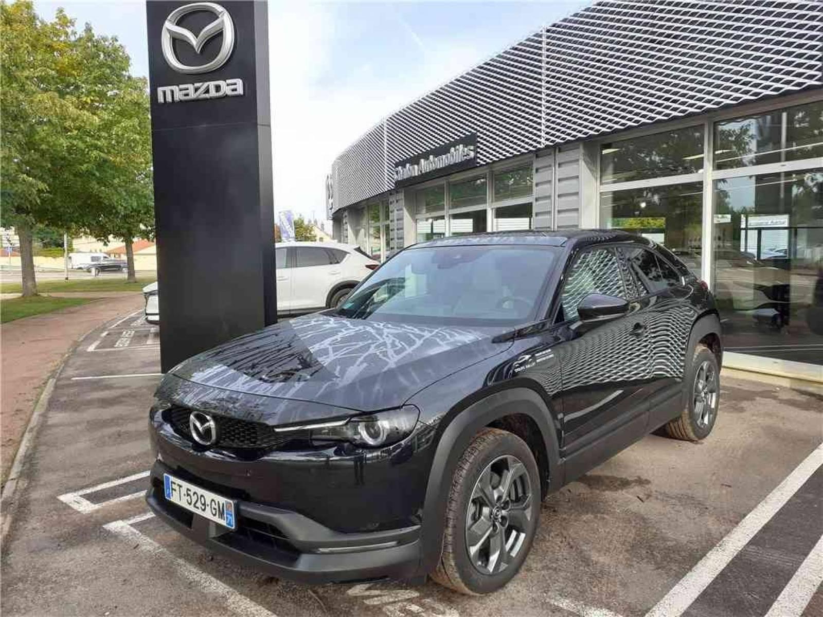MAZDA MX-30 Electrique 145 ch - véhicule d'occasion - Groupe Guillet - Chalon Automobiles - 71100 - Chalon-sur-Saône - 1