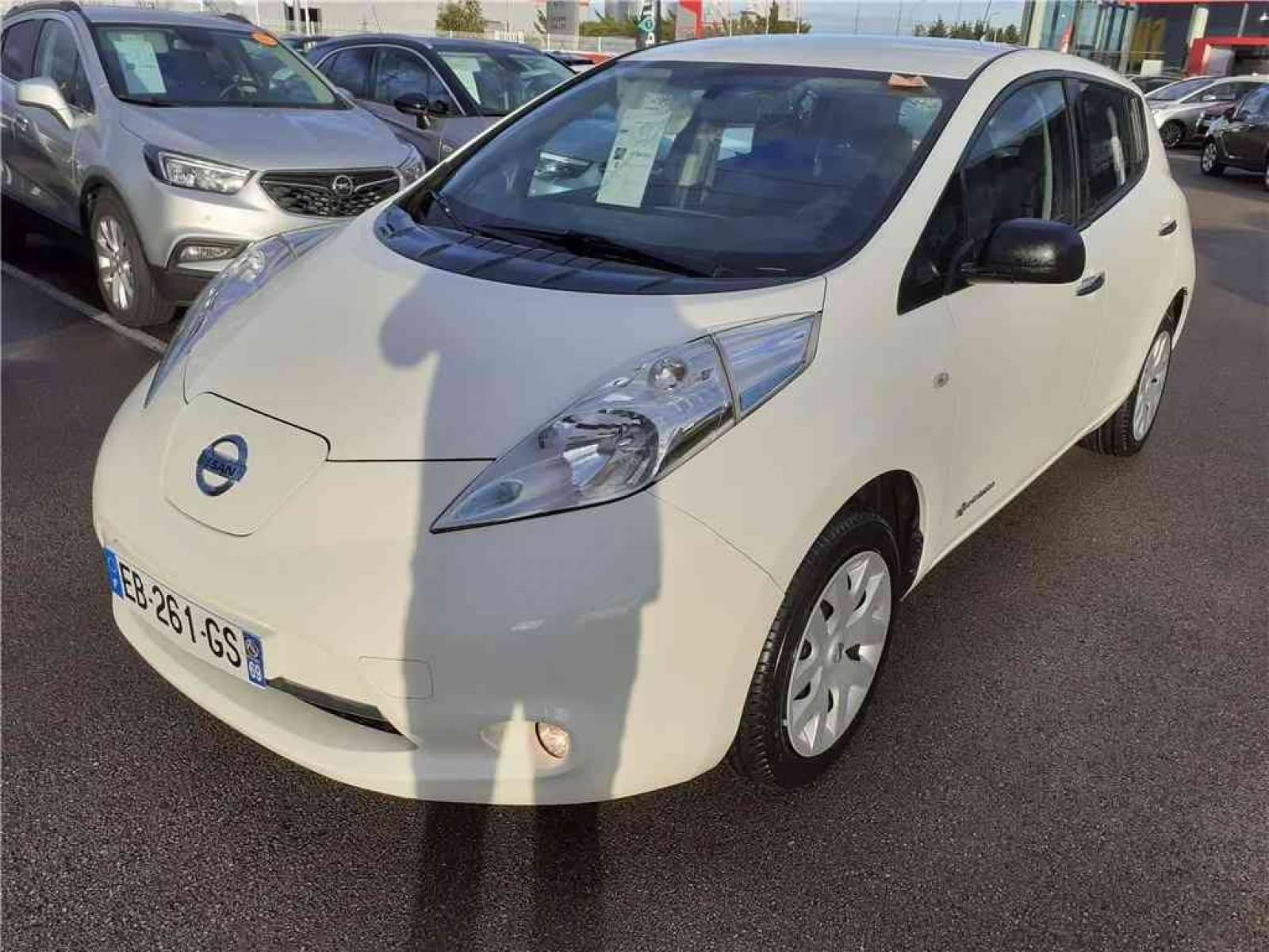 NISSAN Leaf Electrique 24kWh - véhicule d'occasion - Groupe Guillet - Opel Magicauto - Chalon-sur-Saône - 71380 - Saint-Marcel - 1