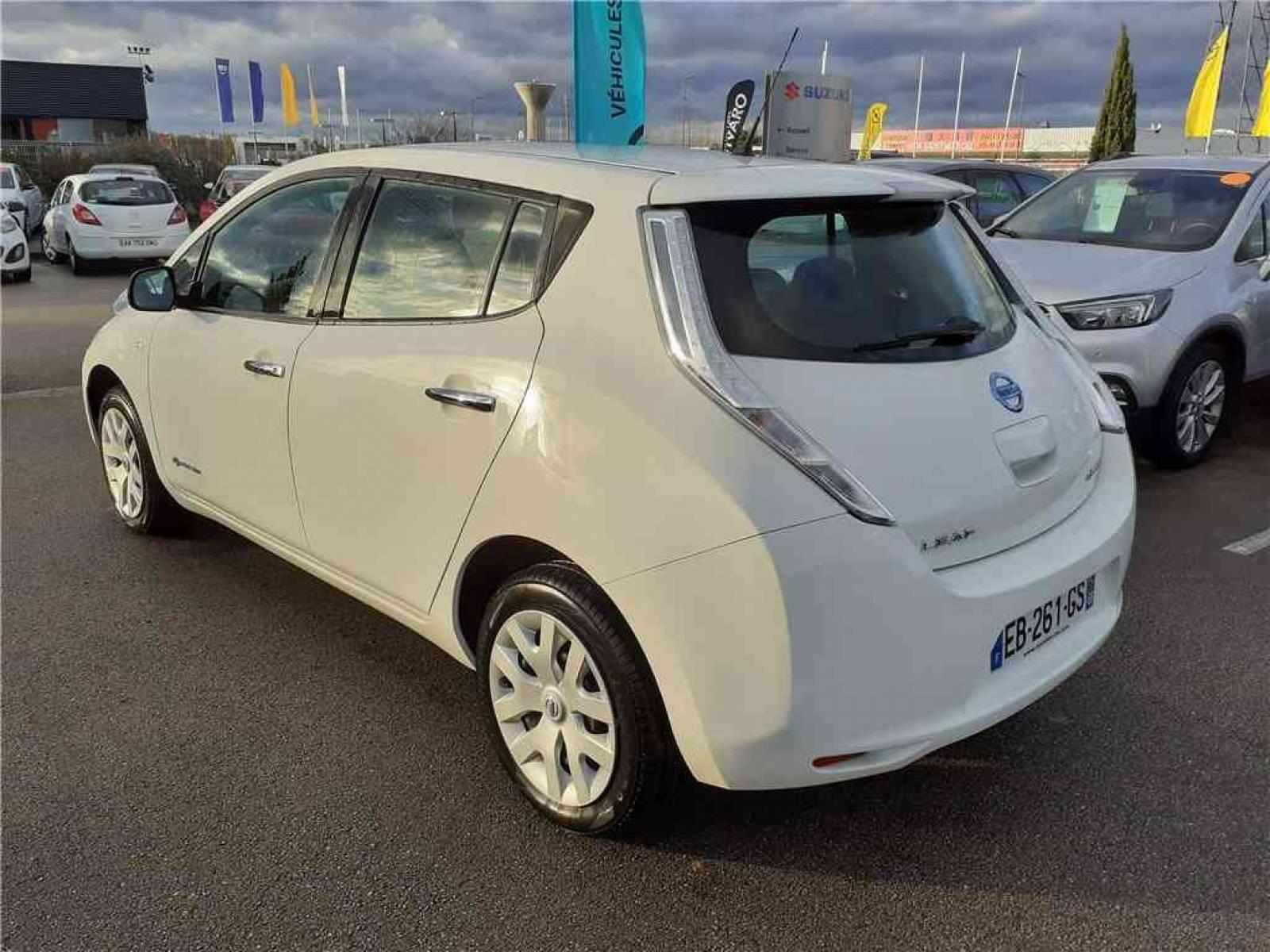 NISSAN Leaf Electrique 24kWh - véhicule d'occasion - Groupe Guillet - Opel Magicauto - Chalon-sur-Saône - 71380 - Saint-Marcel - 4