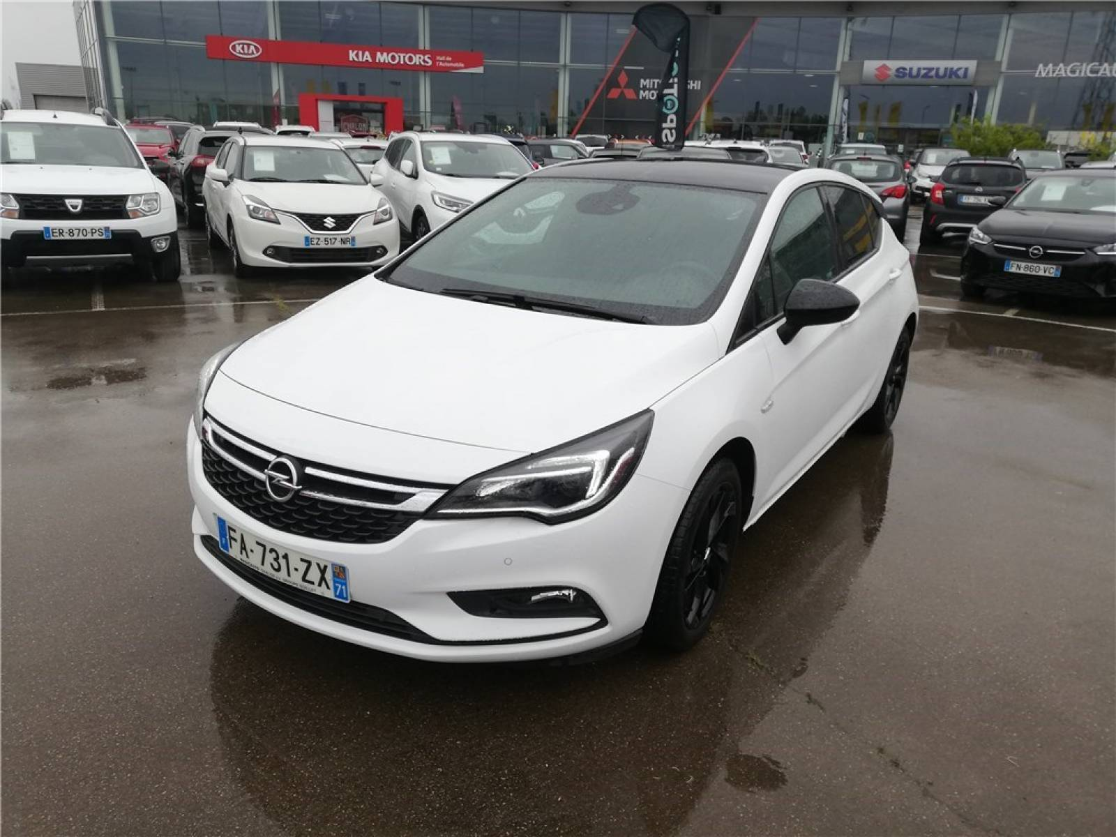 OPEL Astra 1.0 Turbo 105 ch ECOTEC Start/Stop - véhicule d'occasion - Groupe Guillet - Opel Magicauto - Chalon-sur-Saône - 71380 - Saint-Marcel - 1