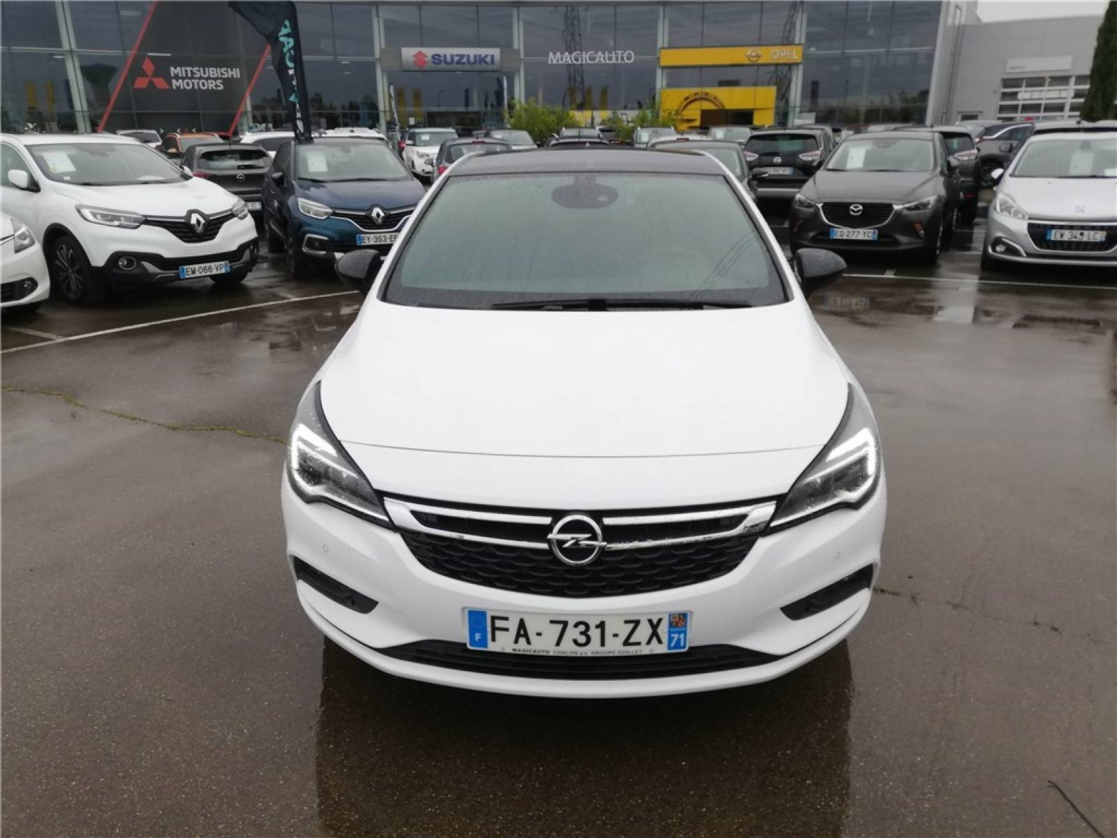 OPEL Astra 1.0 Turbo 105 ch ECOTEC Start/Stop - véhicule d'occasion - Groupe Guillet - Opel Magicauto - Chalon-sur-Saône - 71380 - Saint-Marcel - 2