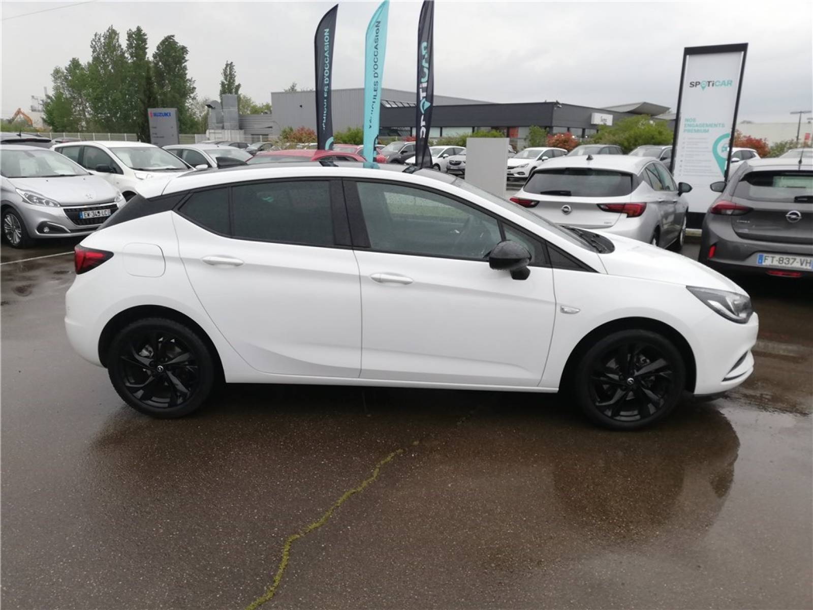 OPEL Astra 1.0 Turbo 105 ch ECOTEC Start/Stop - véhicule d'occasion - Groupe Guillet - Opel Magicauto - Chalon-sur-Saône - 71380 - Saint-Marcel - 3