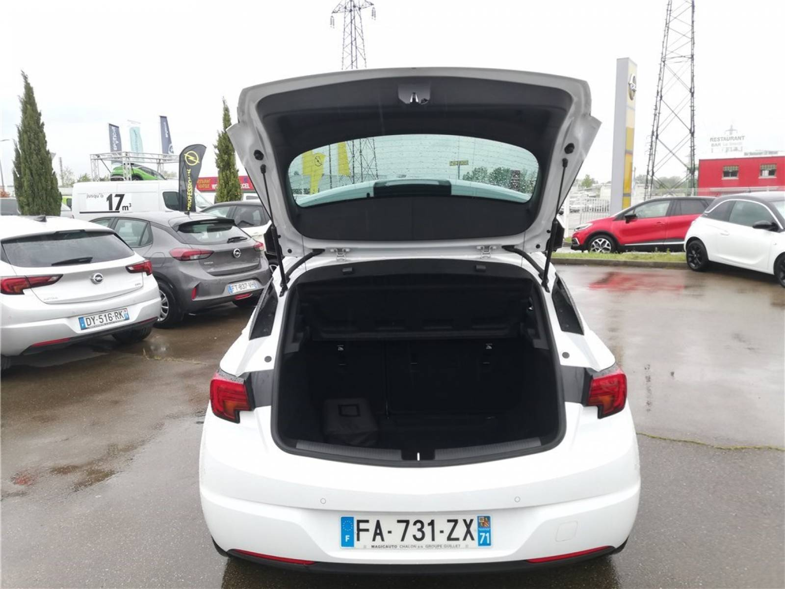 OPEL Astra 1.0 Turbo 105 ch ECOTEC Start/Stop - véhicule d'occasion - Groupe Guillet - Opel Magicauto - Chalon-sur-Saône - 71380 - Saint-Marcel - 4