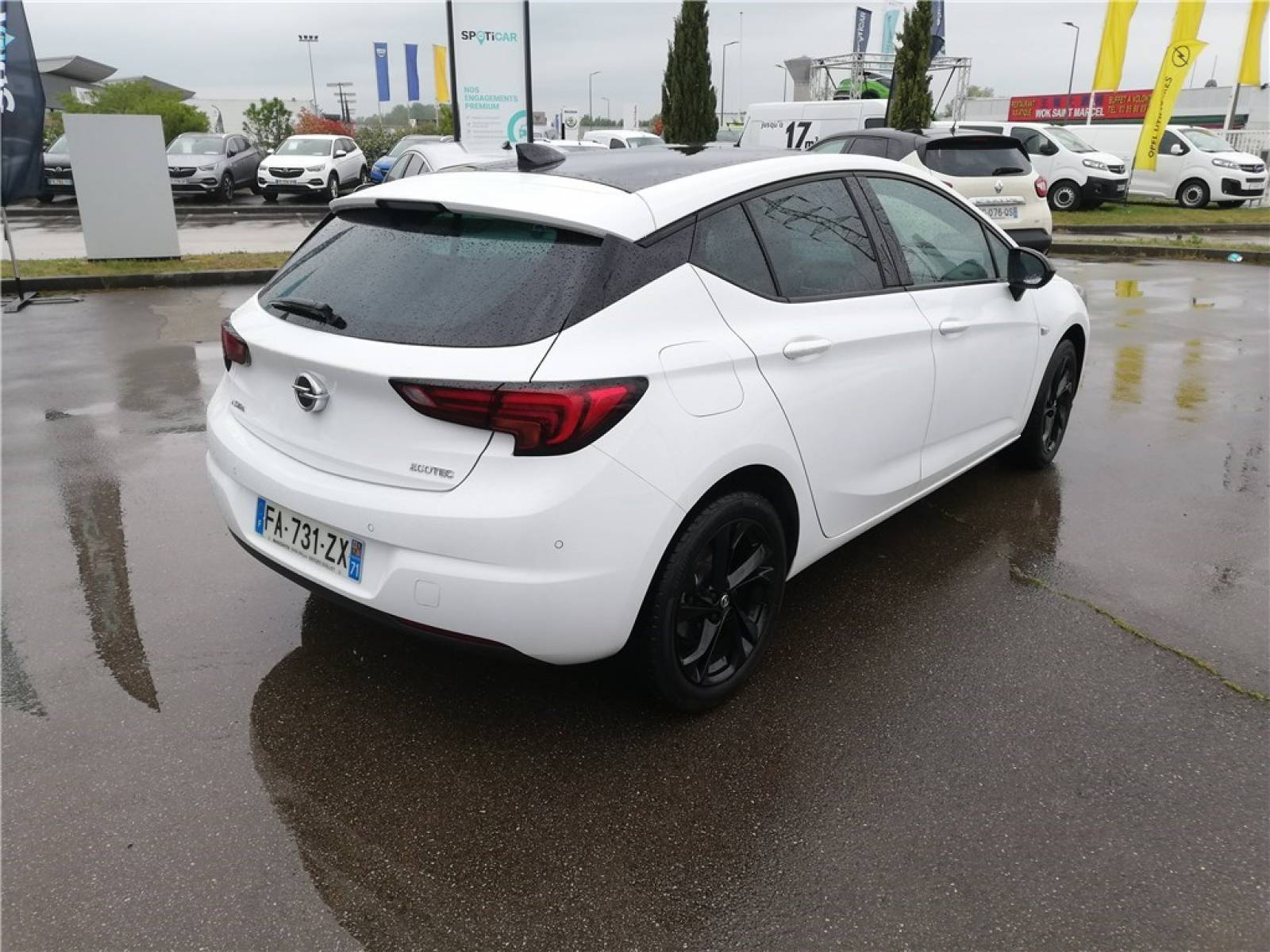 OPEL Astra 1.0 Turbo 105 ch ECOTEC Start/Stop - véhicule d'occasion - Groupe Guillet - Opel Magicauto - Chalon-sur-Saône - 71380 - Saint-Marcel - 5