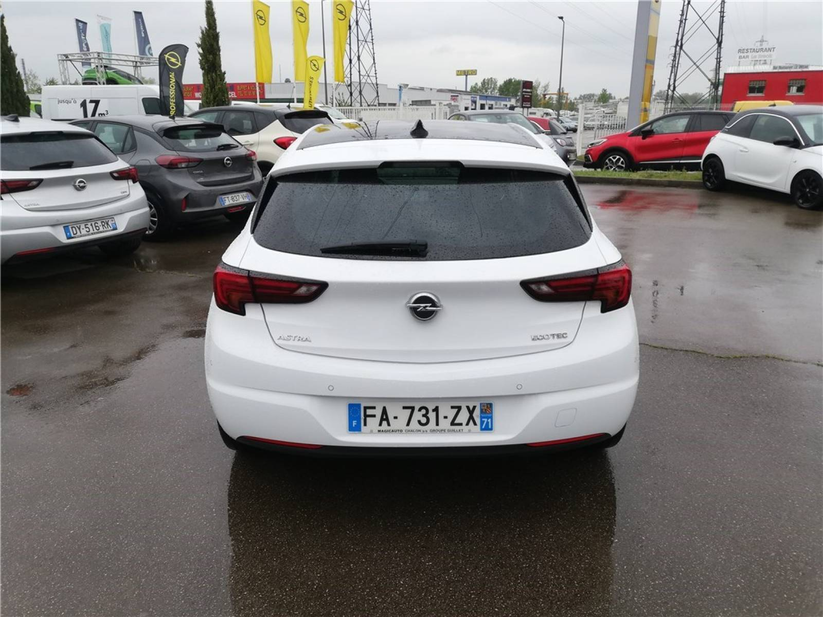 OPEL Astra 1.0 Turbo 105 ch ECOTEC Start/Stop - véhicule d'occasion - Groupe Guillet - Opel Magicauto - Chalon-sur-Saône - 71380 - Saint-Marcel - 6