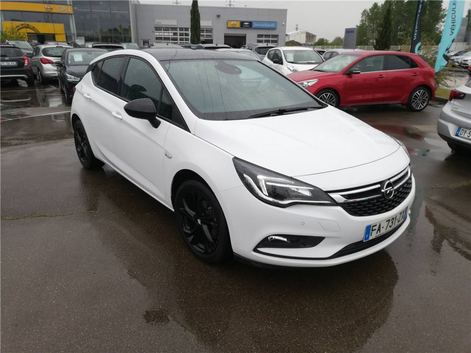 OPEL Astra 1.0 Turbo 105 ch ECOTEC Start/Stop - véhicule d'occasion - Groupe Guillet - Opel Magicauto - Chalon-sur-Saône - 71380 - Saint-Marcel - 7