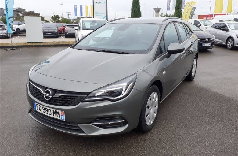 OPEL Astra Sports Tourer 1.5 Diesel 122 ch BVA9  Edition Business - véhicule d'occasion - Groupe Guillet