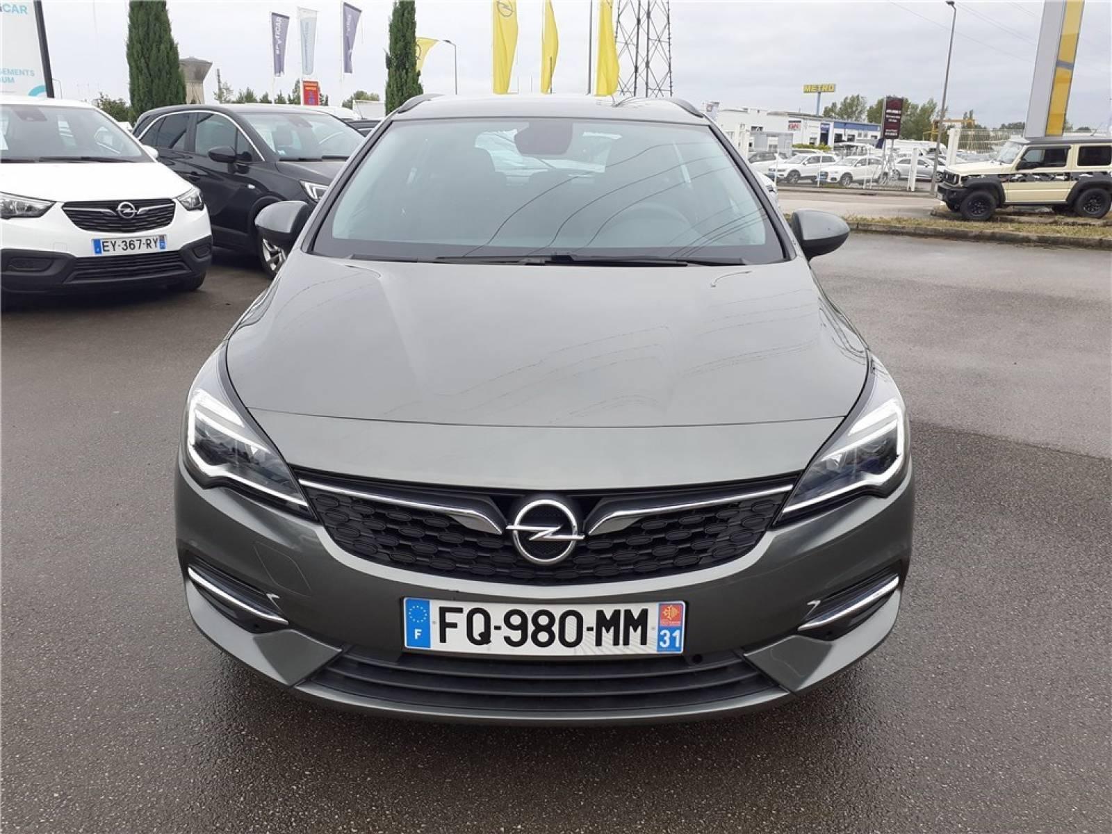 OPEL Astra Sports Tourer 1.5 Diesel 122 ch BVA9 - véhicule d'occasion - Groupe Guillet - Opel Magicauto - Chalon-sur-Saône - 71380 - Saint-Marcel - 12