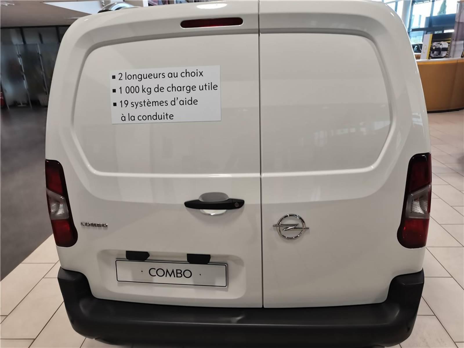OPEL COMBO CARGO 1.5 100 CH L1H1 STANDARD - véhicule d'occasion - Groupe Guillet - Opel Magicauto - Chalon-sur-Saône - 71380 - Saint-Marcel - 18