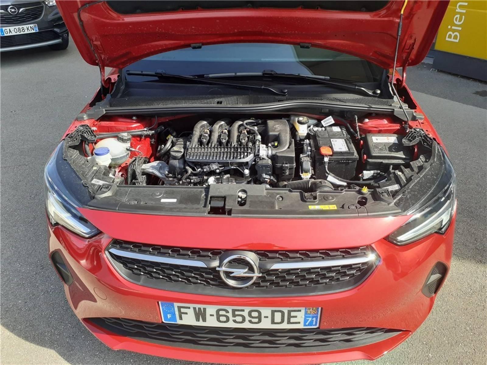 OPEL Corsa 1.2 75 ch BVM5 - véhicule d'occasion - Groupe Guillet - Opel Magicauto - Chalon-sur-Saône - 71380 - Saint-Marcel - 12