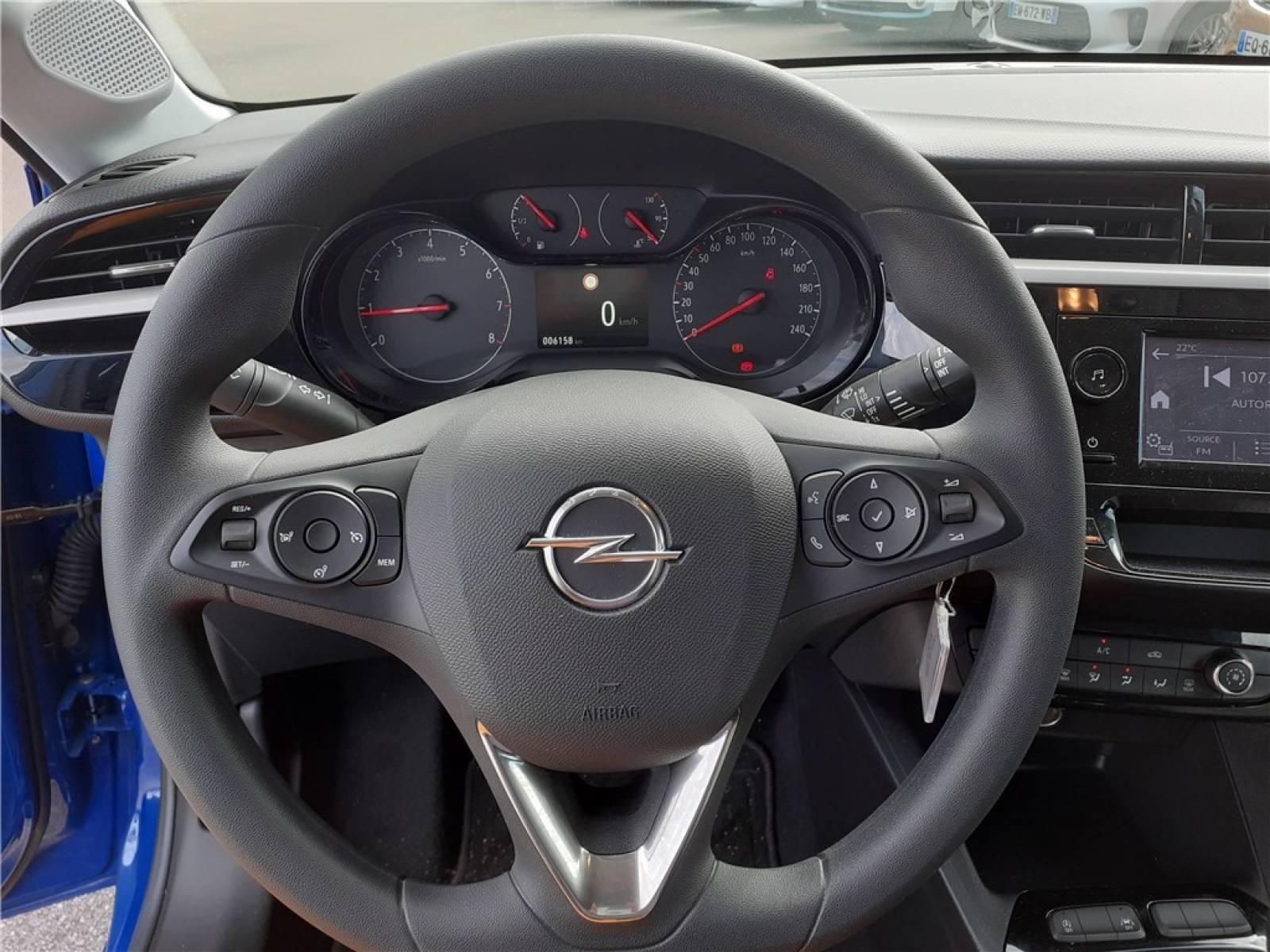 OPEL Corsa 1.2 75 ch BVM5 - véhicule d'occasion - Groupe Guillet - Opel Magicauto - Chalon-sur-Saône - 71380 - Saint-Marcel - 19
