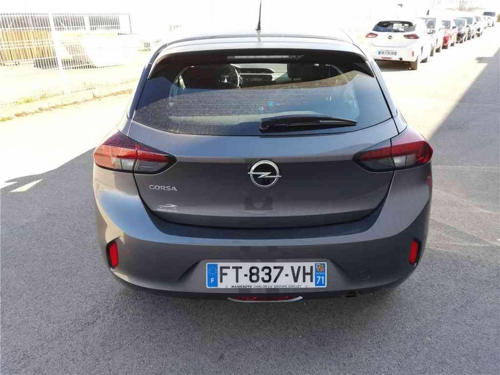 OPEL Corsa 1.2 75 ch BVM5 - véhicule d'occasion - Groupe Guillet - Opel Magicauto - Montceau-les-Mines - 71300 - Montceau-les-Mines - 27
