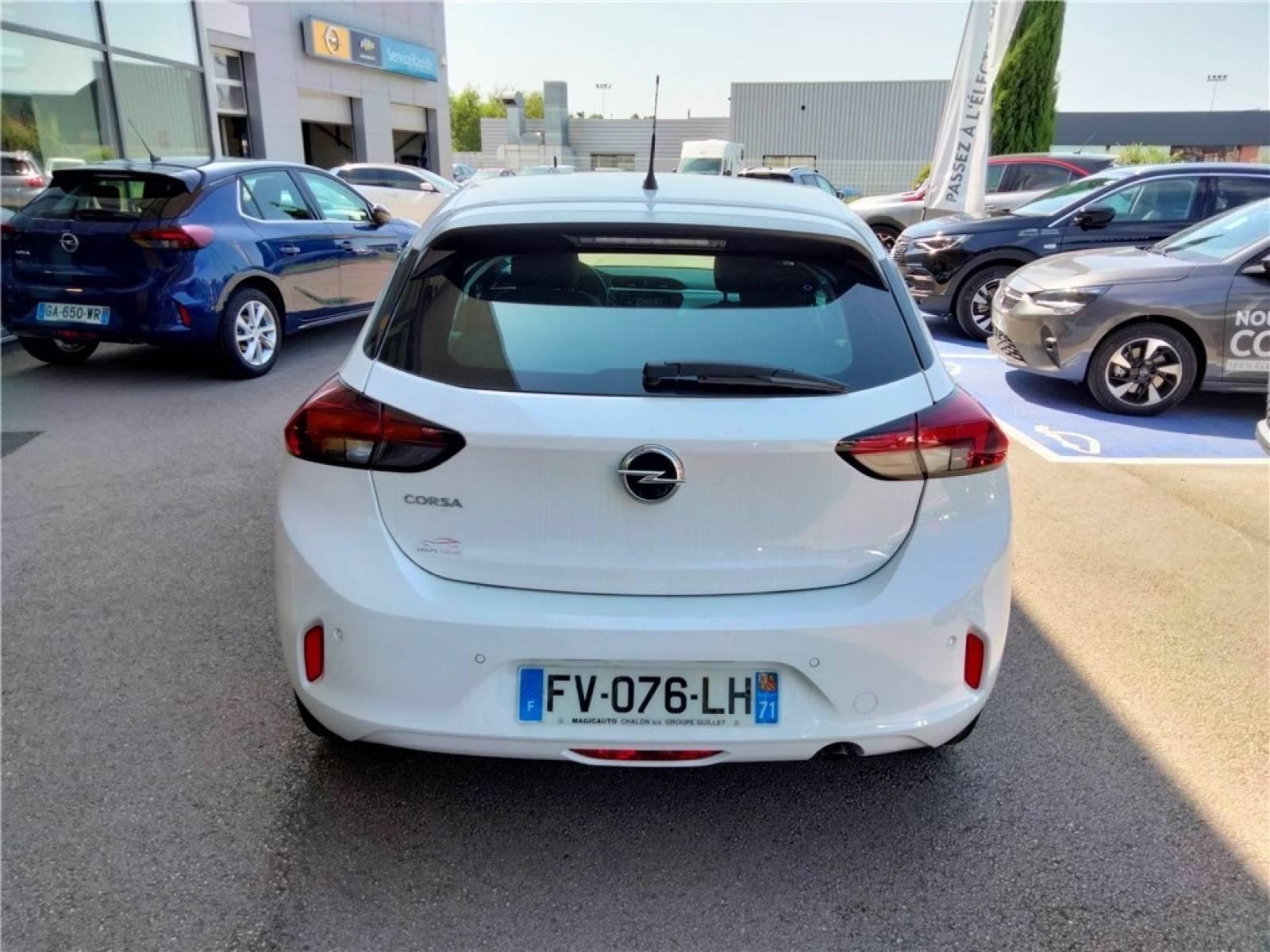 OPEL Corsa 1.2 75 ch BVM5 - véhicule d'occasion - Groupe Guillet - Opel Magicauto - Chalon-sur-Saône - 71380 - Saint-Marcel - 28