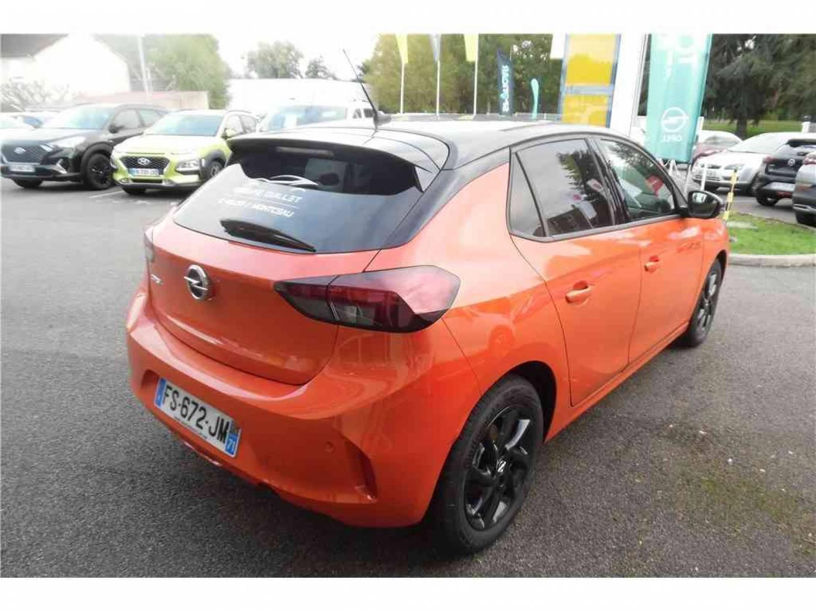 OPEL Corsa 1.2 Turbo 100 ch BVM6 - véhicule d'occasion - Groupe Guillet - Opel Magicauto - Montceau-les-Mines - 71300 - Montceau-les-Mines - 7