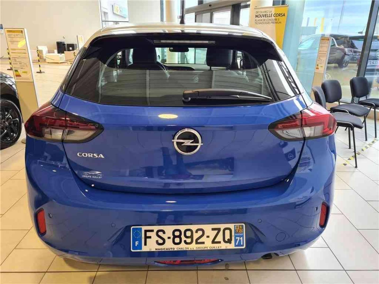 OPEL Corsa 1.2 Turbo 100 ch BVM6 - véhicule d'occasion - Groupe Guillet - Opel Magicauto - Chalon-sur-Saône - 71380 - Saint-Marcel - 4