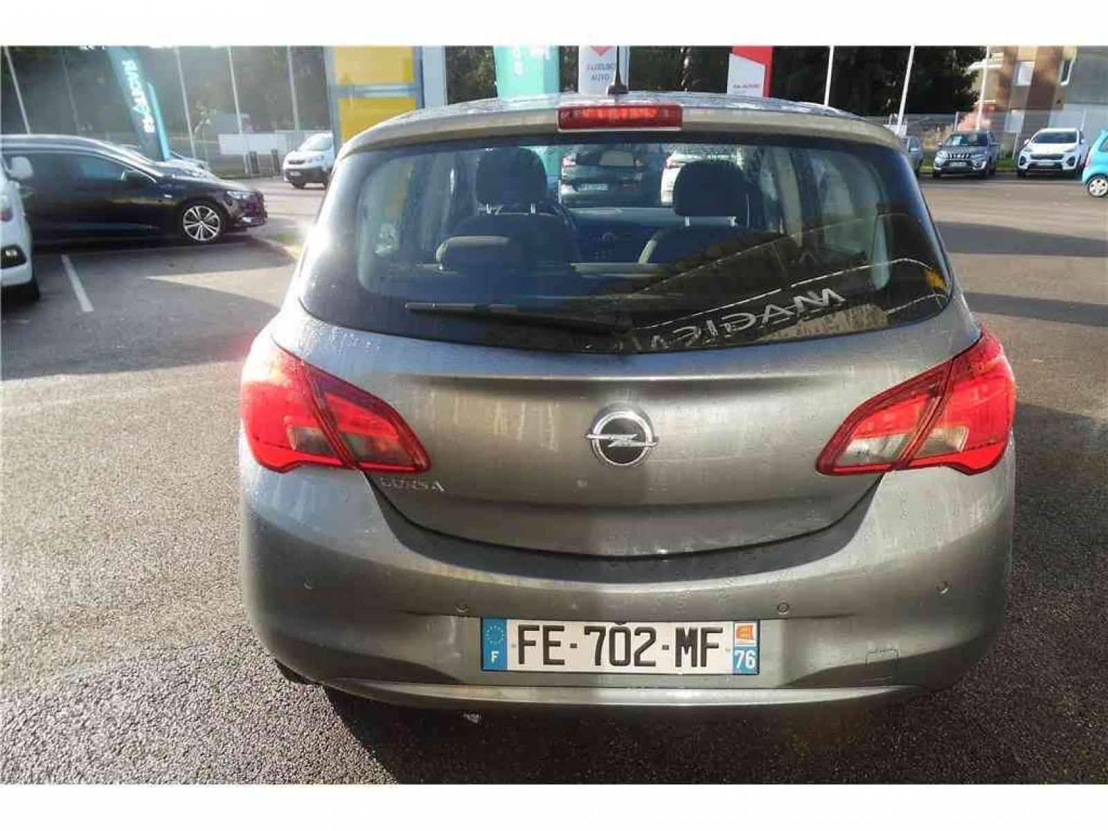 OPEL Corsa 1.4 90 ch - véhicule d'occasion - Groupe Guillet - Opel Magicauto - Montceau-les-Mines - 71300 - Montceau-les-Mines - 25