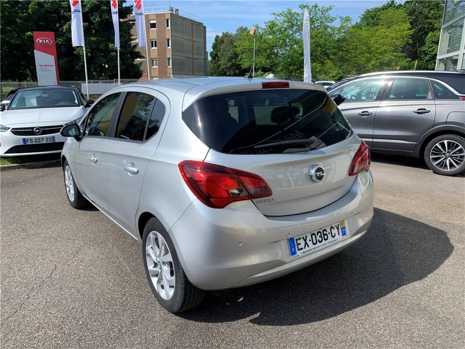 OPEL Corsa 1.4 90 ch - véhicule d'occasion - Groupe Guillet - Opel Magicauto - Montceau-les-Mines - 71300 - Montceau-les-Mines - 5