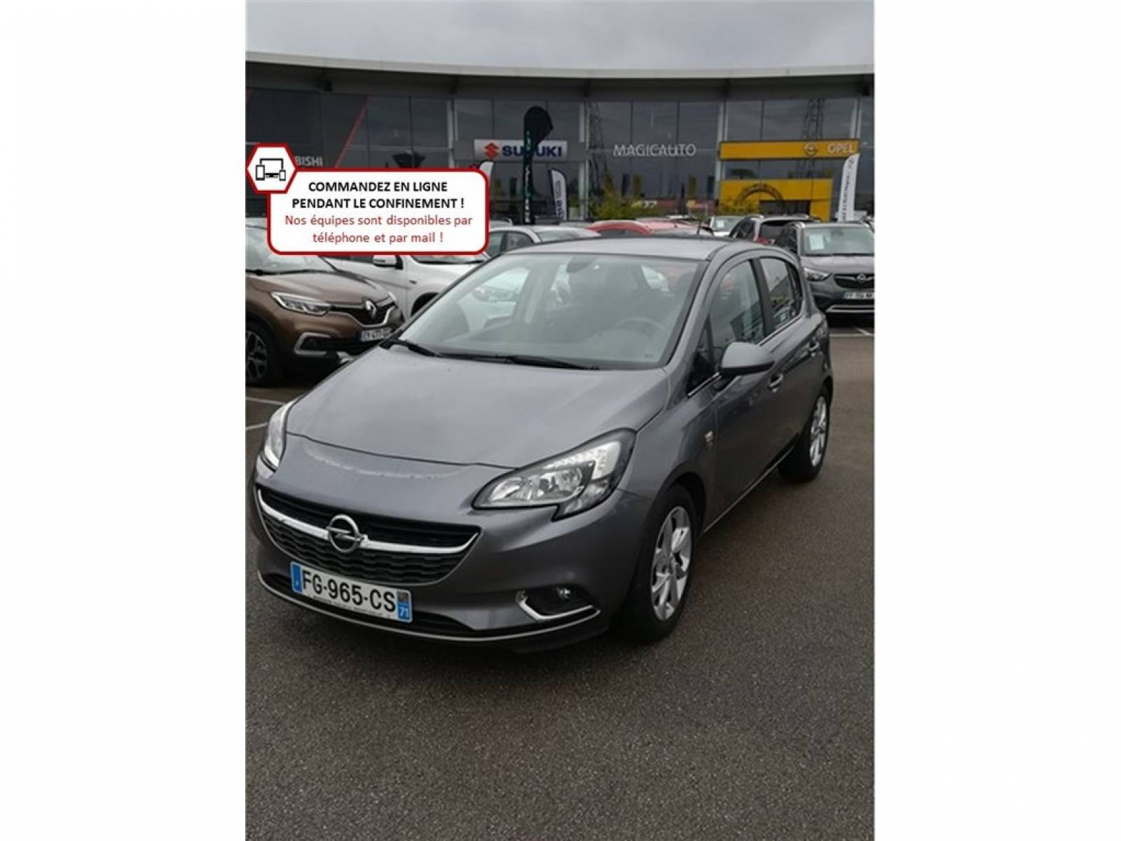 OPEL Corsa 1.4 Turbo 100 ch - véhicule d'occasion - Groupe Guillet - Opel Magicauto - Chalon-sur-Saône - 71380 - Saint-Marcel - 1