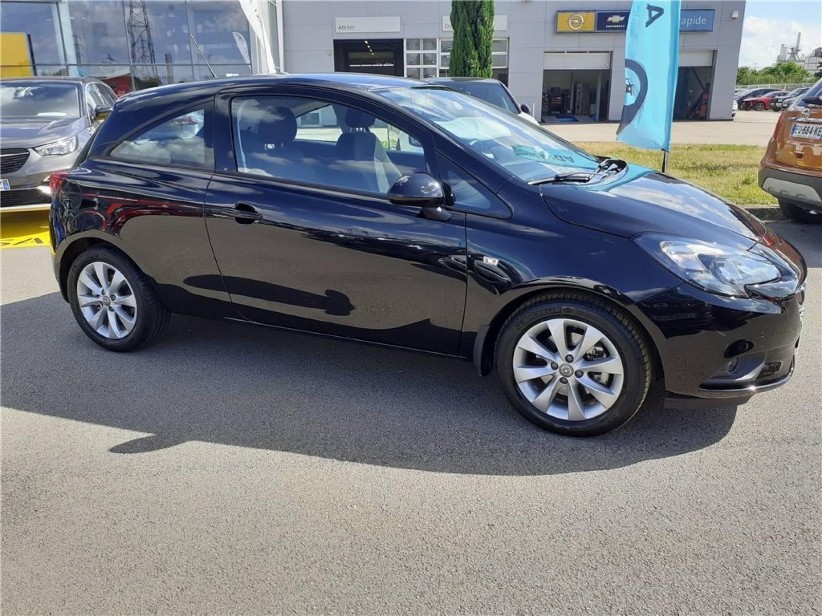 OPEL Corsa 1.4 Turbo 100 ch - véhicule d'occasion - Groupe Guillet - Opel Magicauto - Chalon-sur-Saône - 71380 - Saint-Marcel - 2