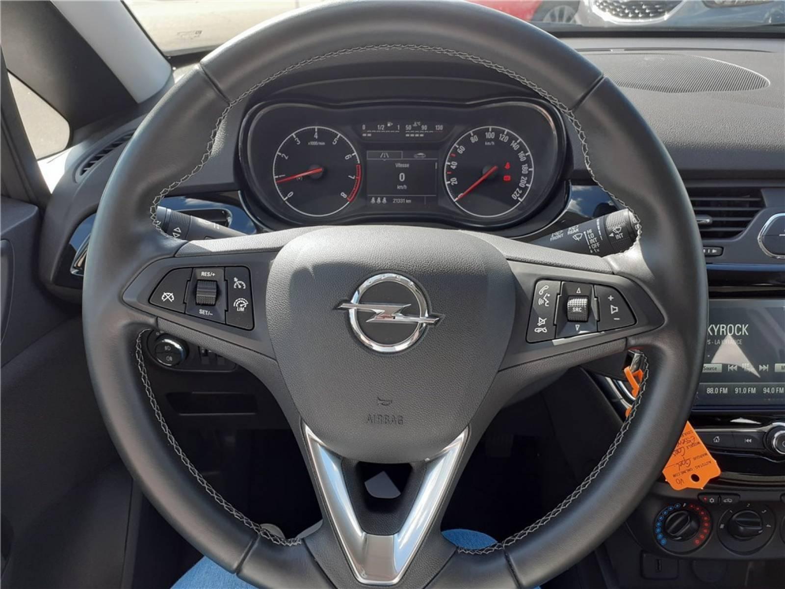 OPEL Corsa 1.4 Turbo 100 ch - véhicule d'occasion - Groupe Guillet - Opel Magicauto - Chalon-sur-Saône - 71380 - Saint-Marcel - 20