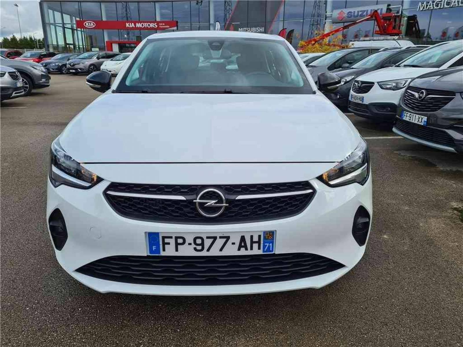 OPEL Corsa 1.5 Diesel 100 ch BVM6 - véhicule d'occasion - Groupe Guillet - Opel Magicauto - Chalon-sur-Saône - 71380 - Saint-Marcel - 10