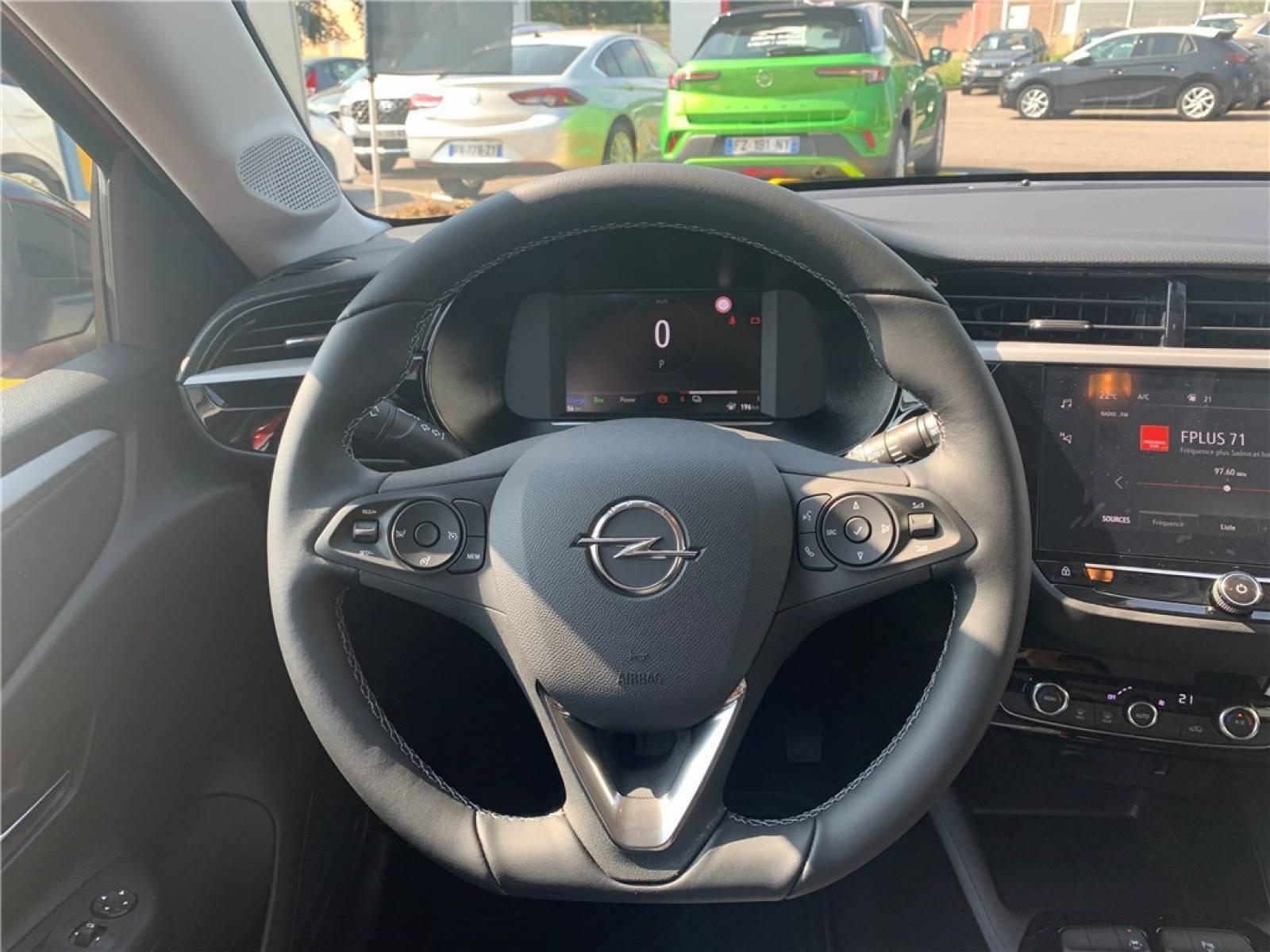 OPEL Corsa Electrique 136 ch & Batterie 50 kw/h - véhicule d'occasion - Groupe Guillet - Opel Magicauto - Montceau-les-Mines - 71300 - Montceau-les-Mines - 13